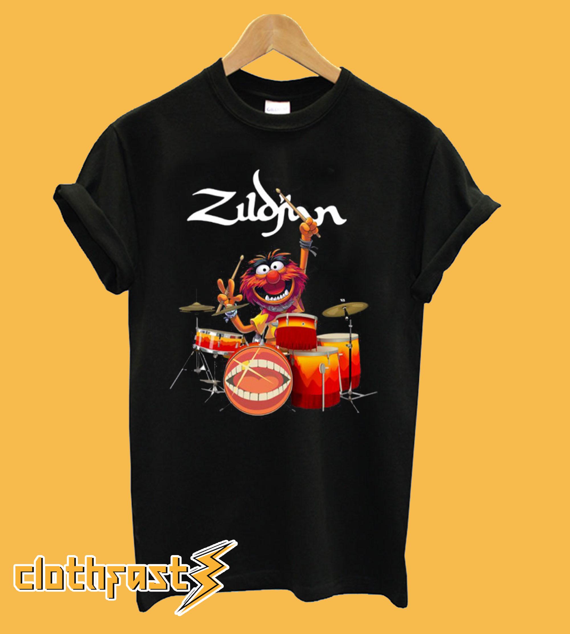 The Muppet Zildjian drums T Shirt