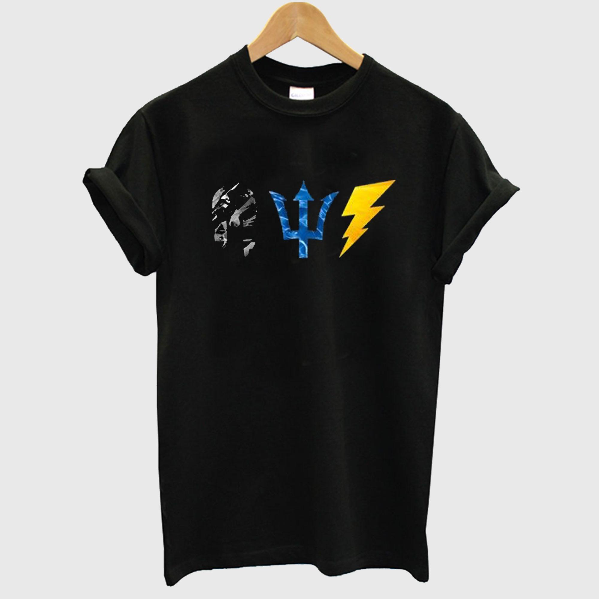 Hades Poseidon Zeus Symbols T-Shirt
