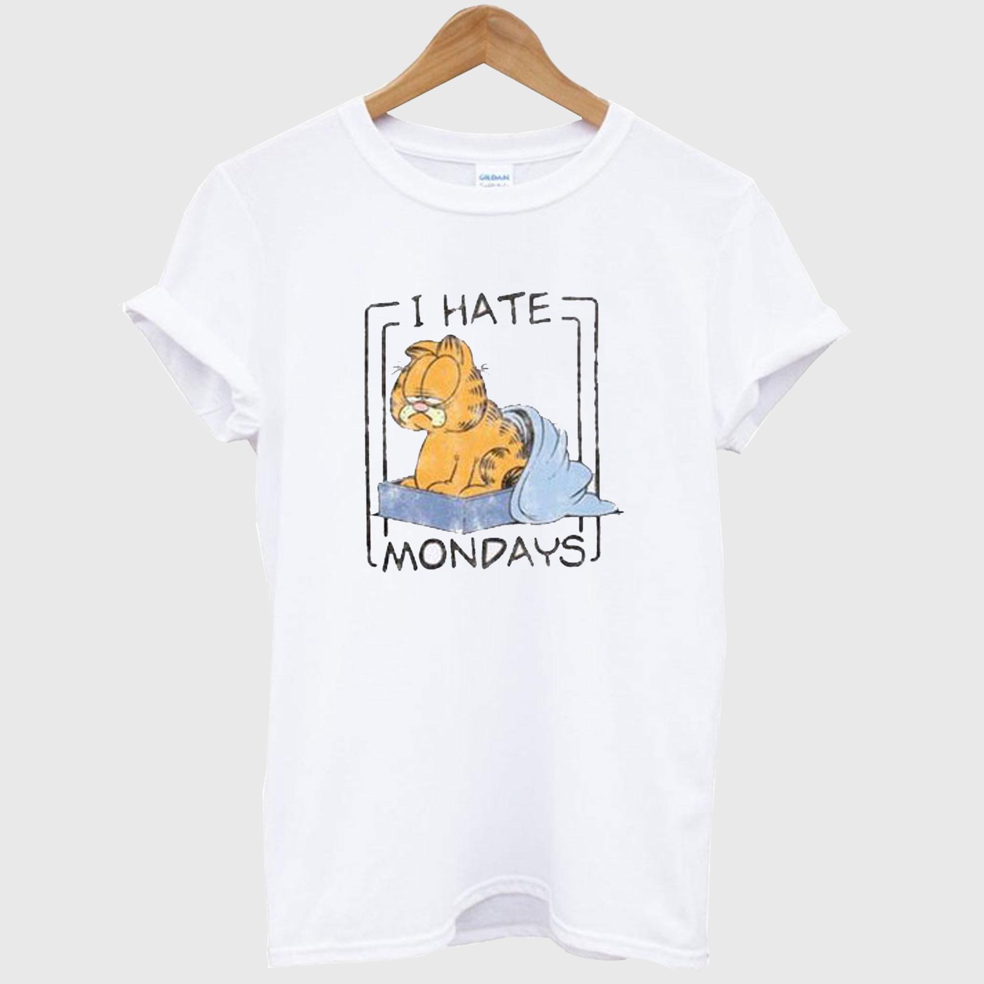 I Hate Mondays Garfield T-Shirt