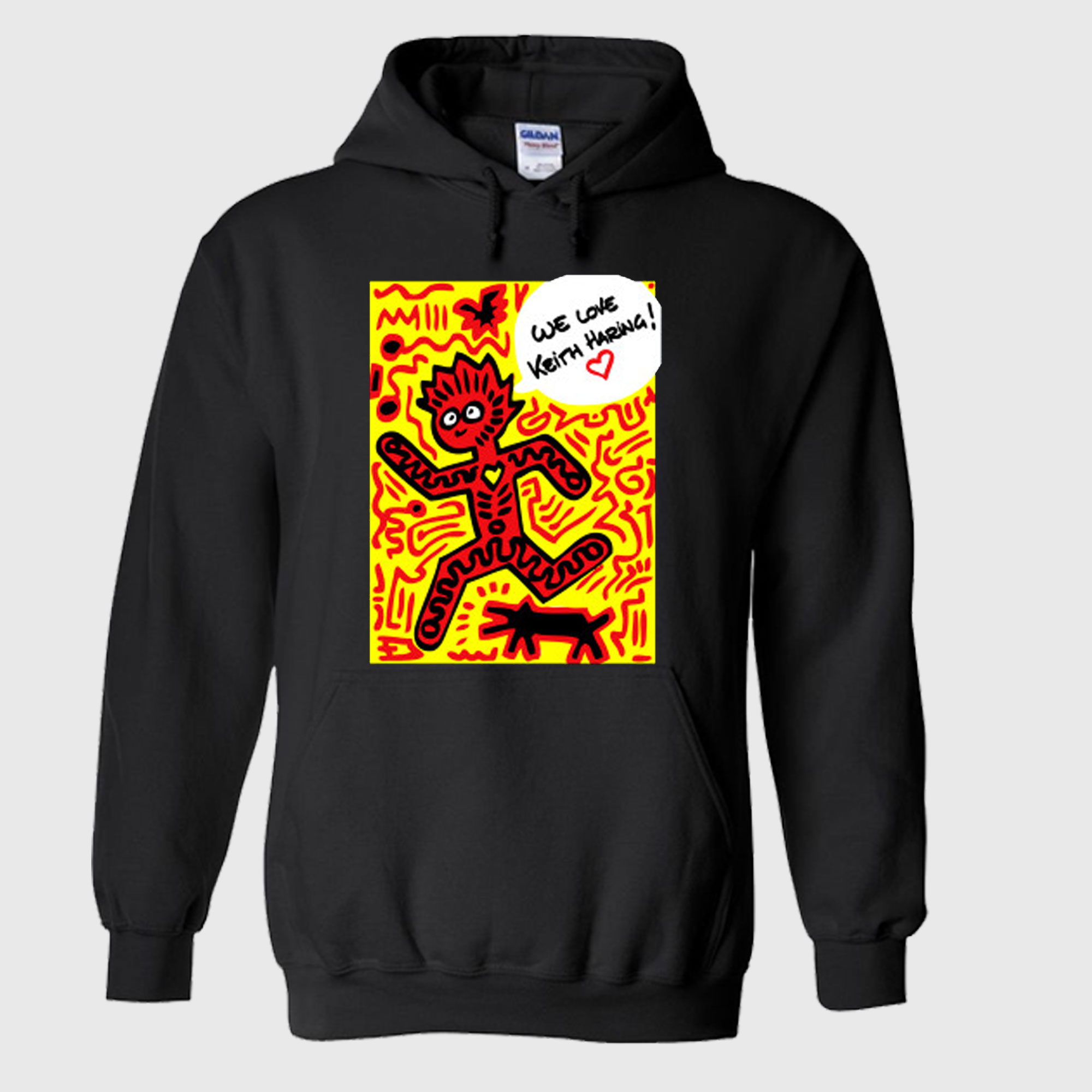 We Love Keith Haring Hoodie