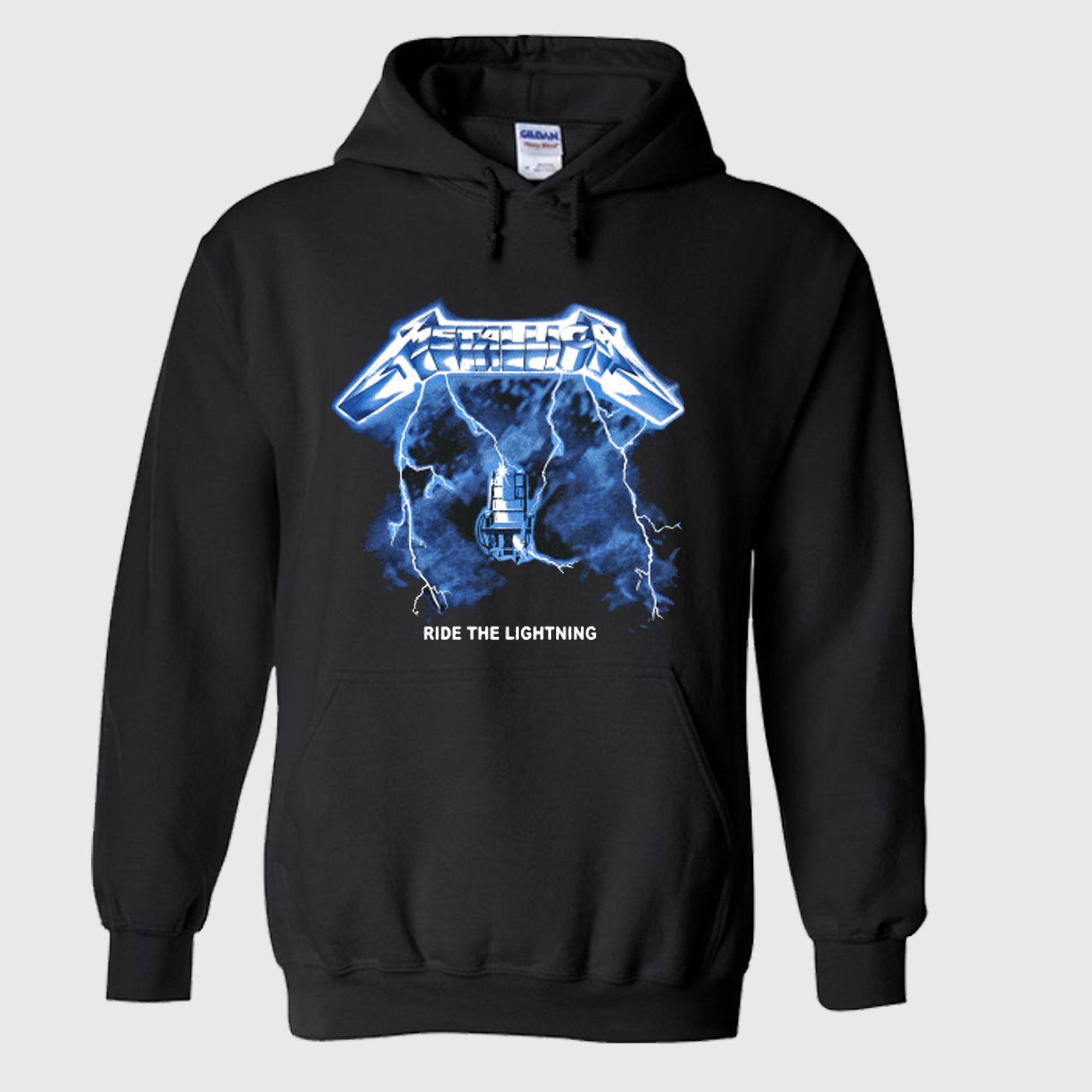 Metallica Ride The Lightning Hoodie