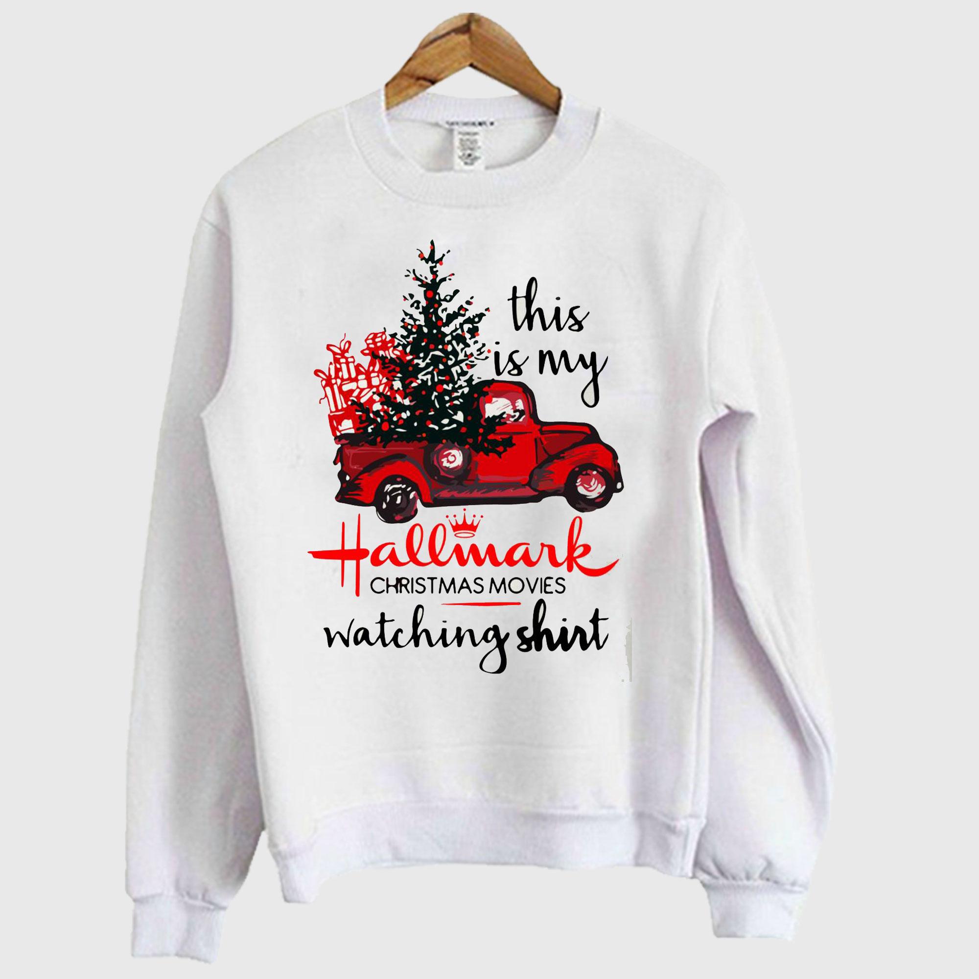 This is my Hallmark christmas Sweatshirt