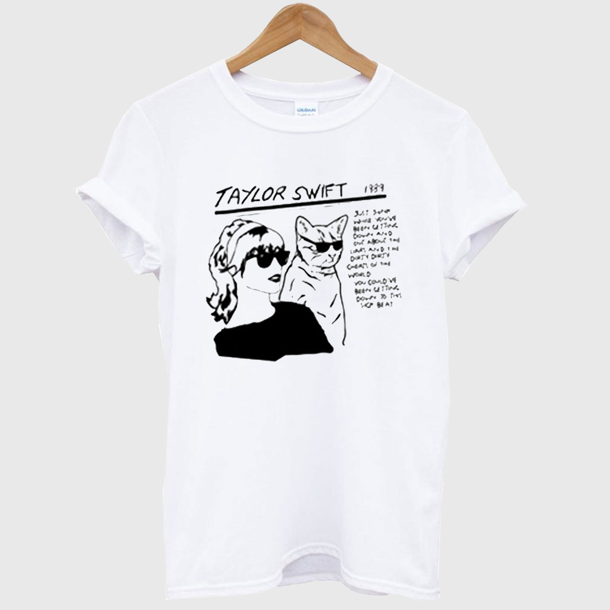 Sonic Youth Goo Parody Taylor Swift T-Shirt