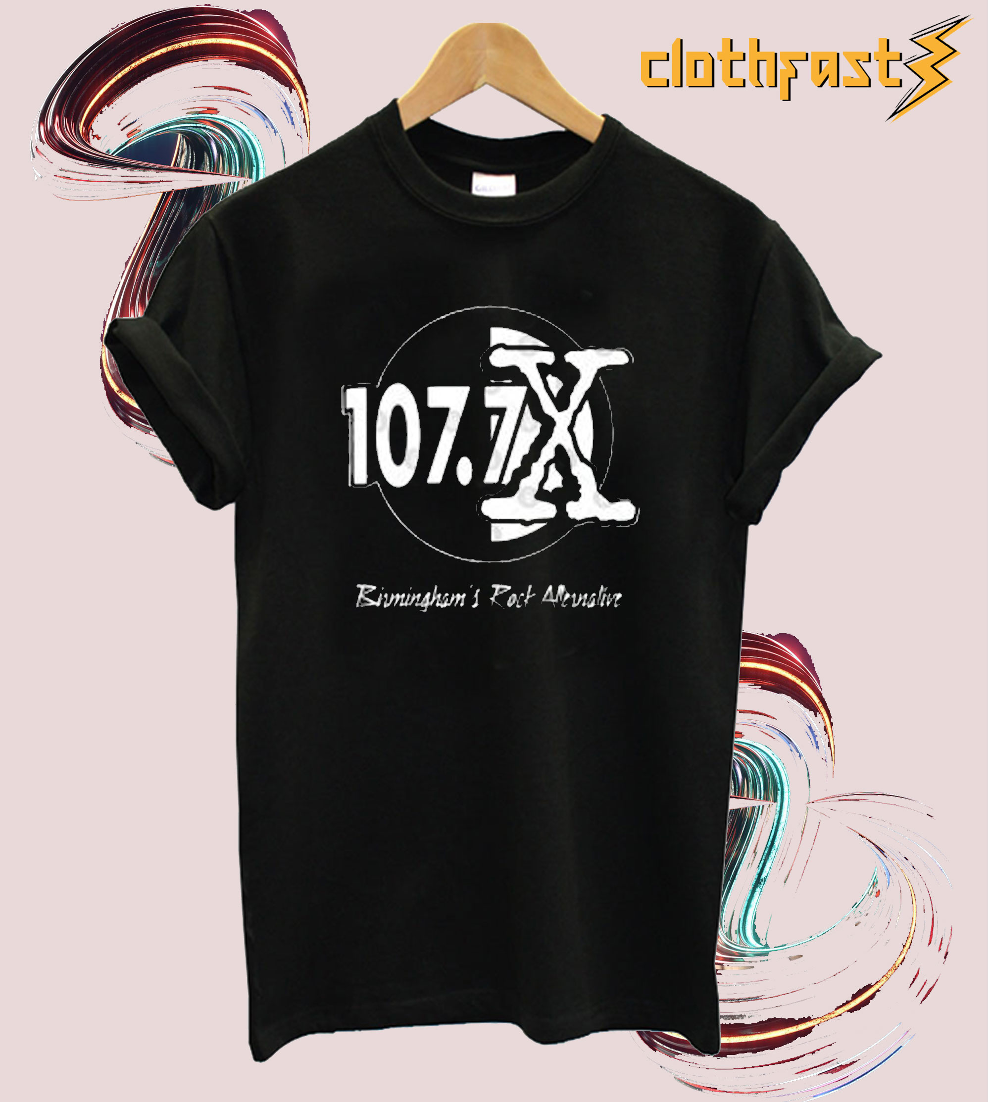 107.7 THE X ROCK ALTERNATIV T-Shirt