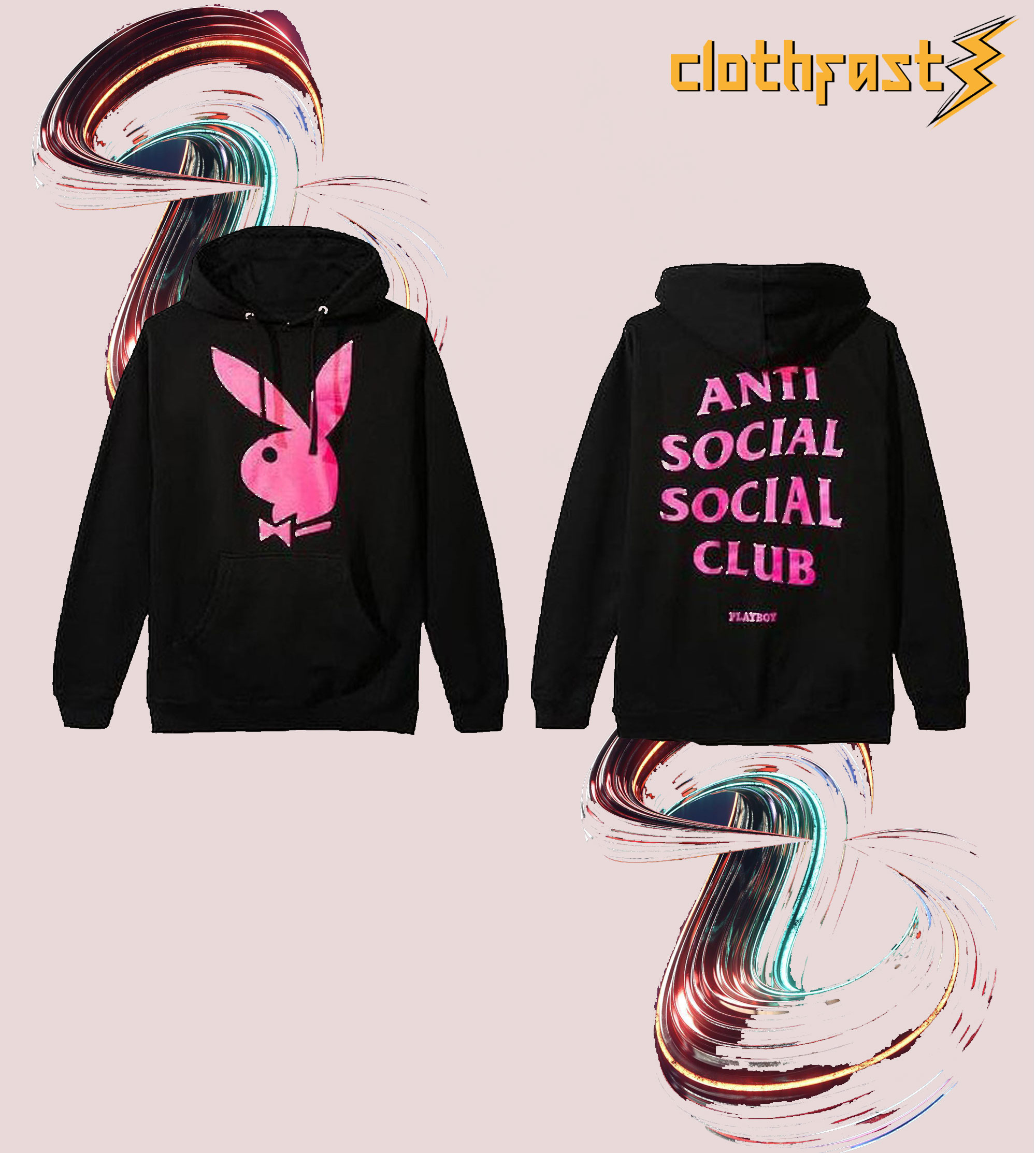 Anti Social Social Club Playboy Hoodie