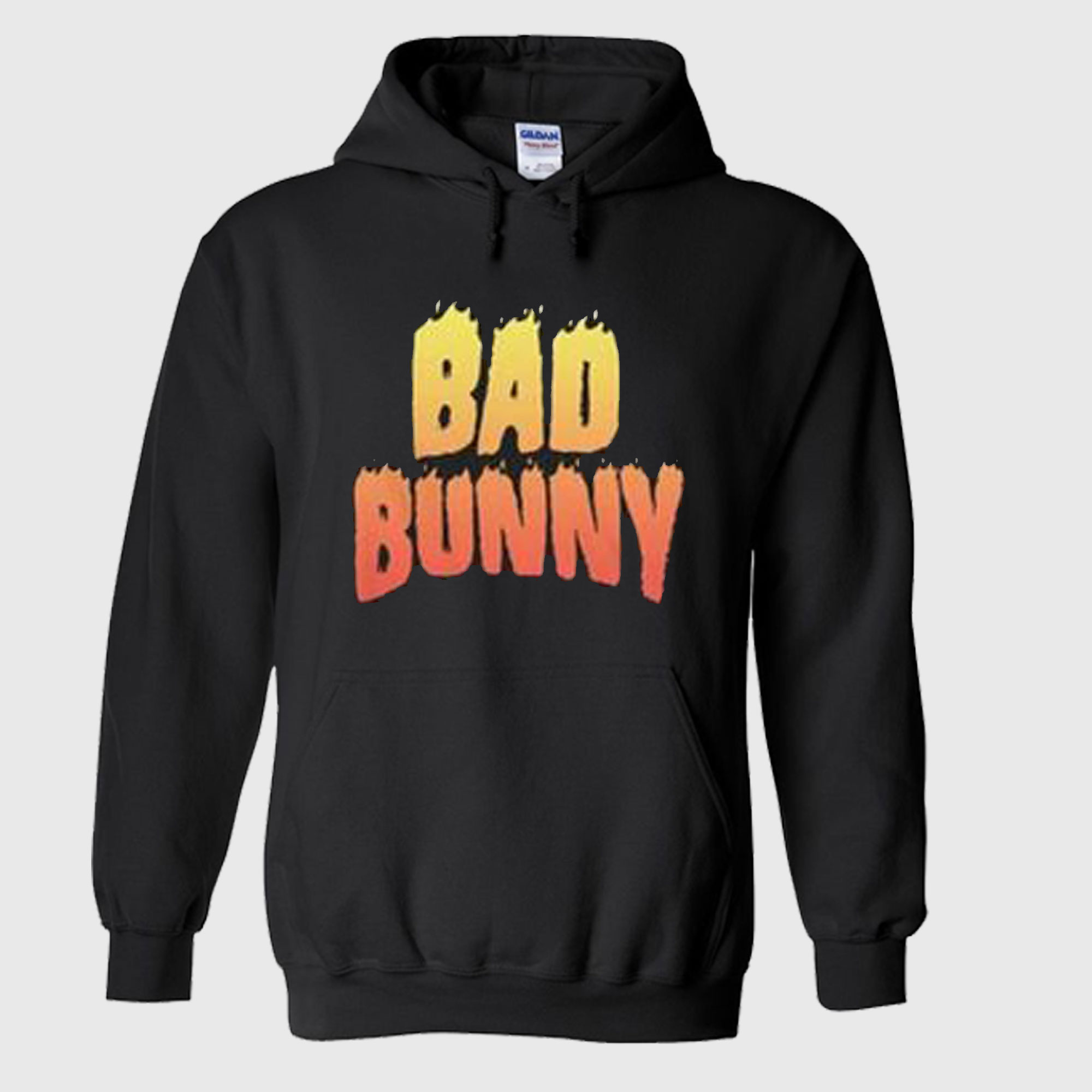 Bad Bunny Flame Hoodie