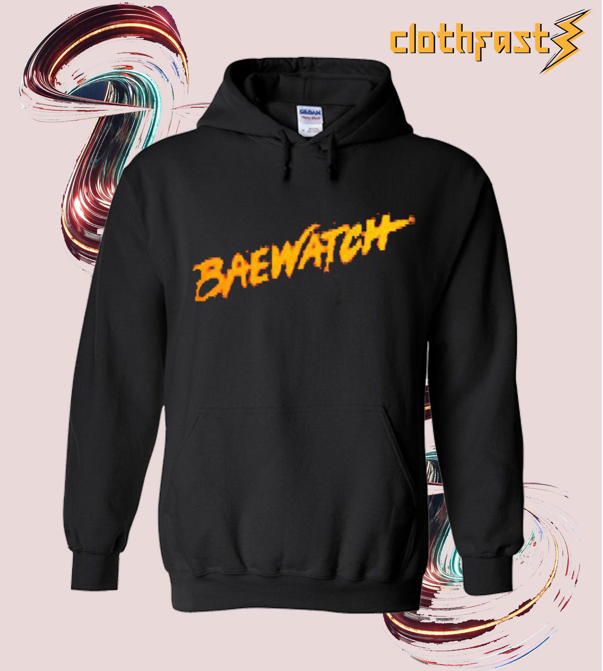 Baewatch Red Hoodie