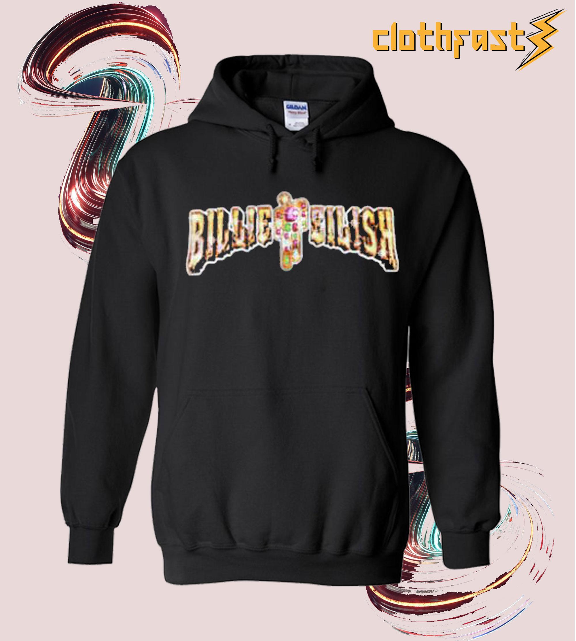 Billie Eilish + Dbruze Black Hoodie