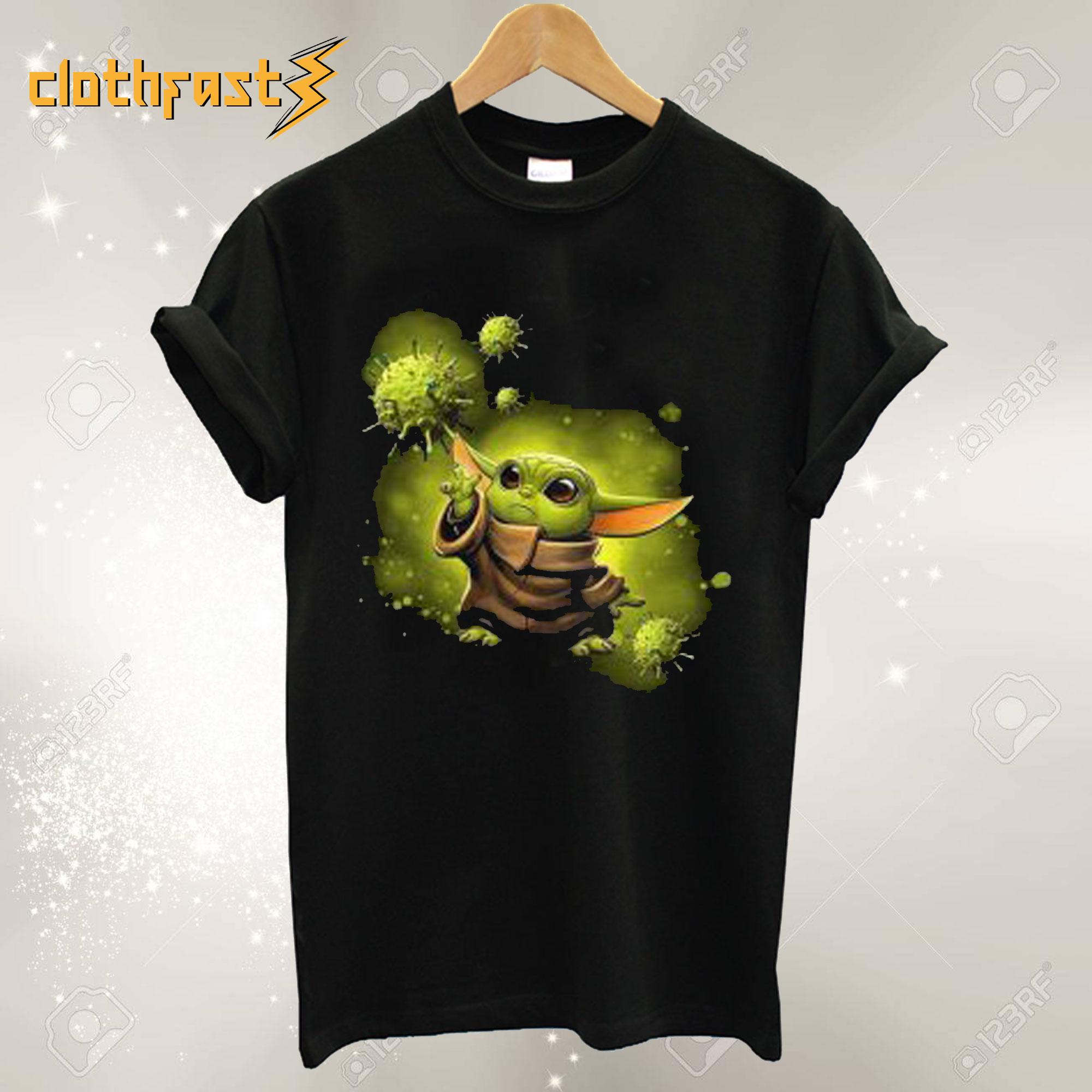 Corona Virus Yoda T Shirt