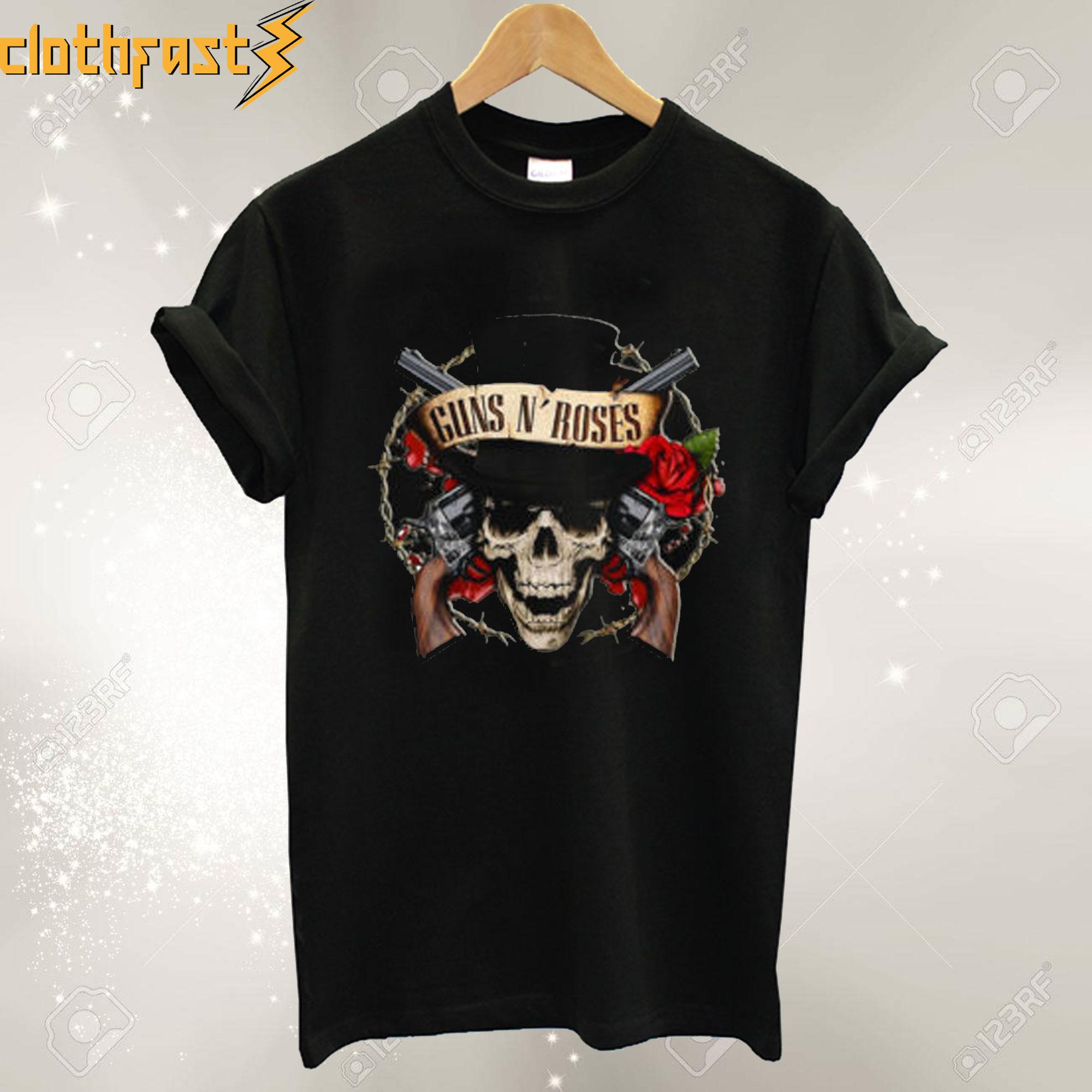 Guns N Roses Tribute T Shirt