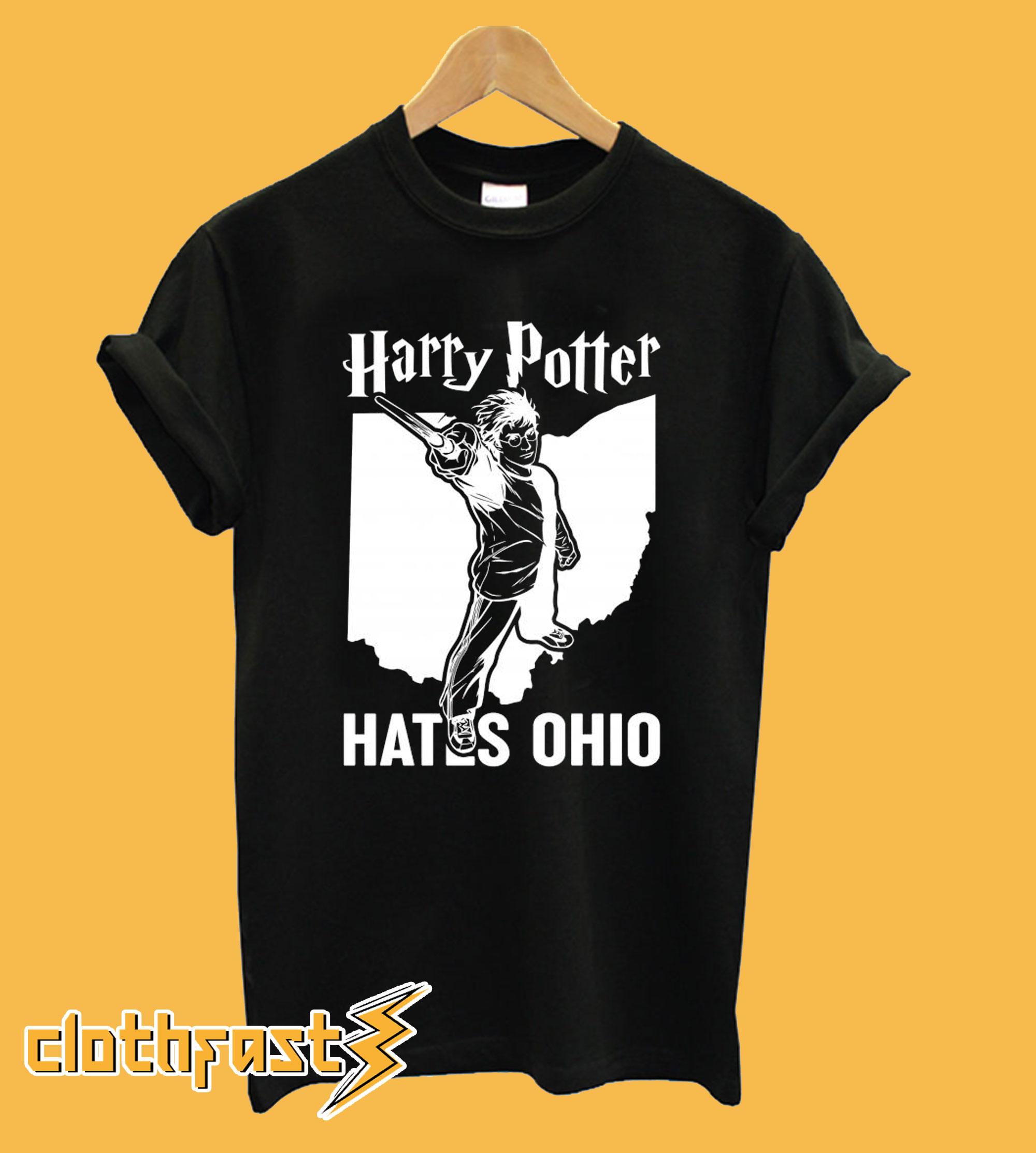 Harry Potter Hates Ohio T shirt