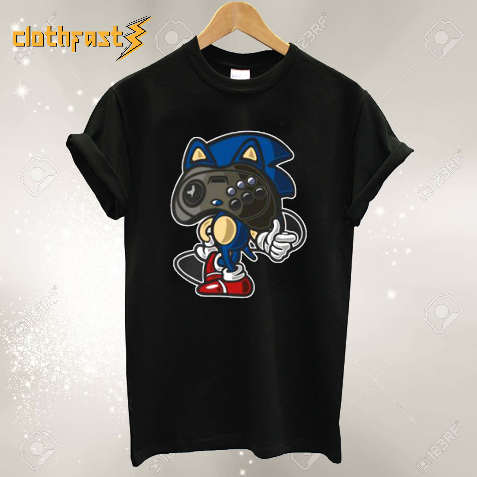 Hedgehog Player T-Shirt