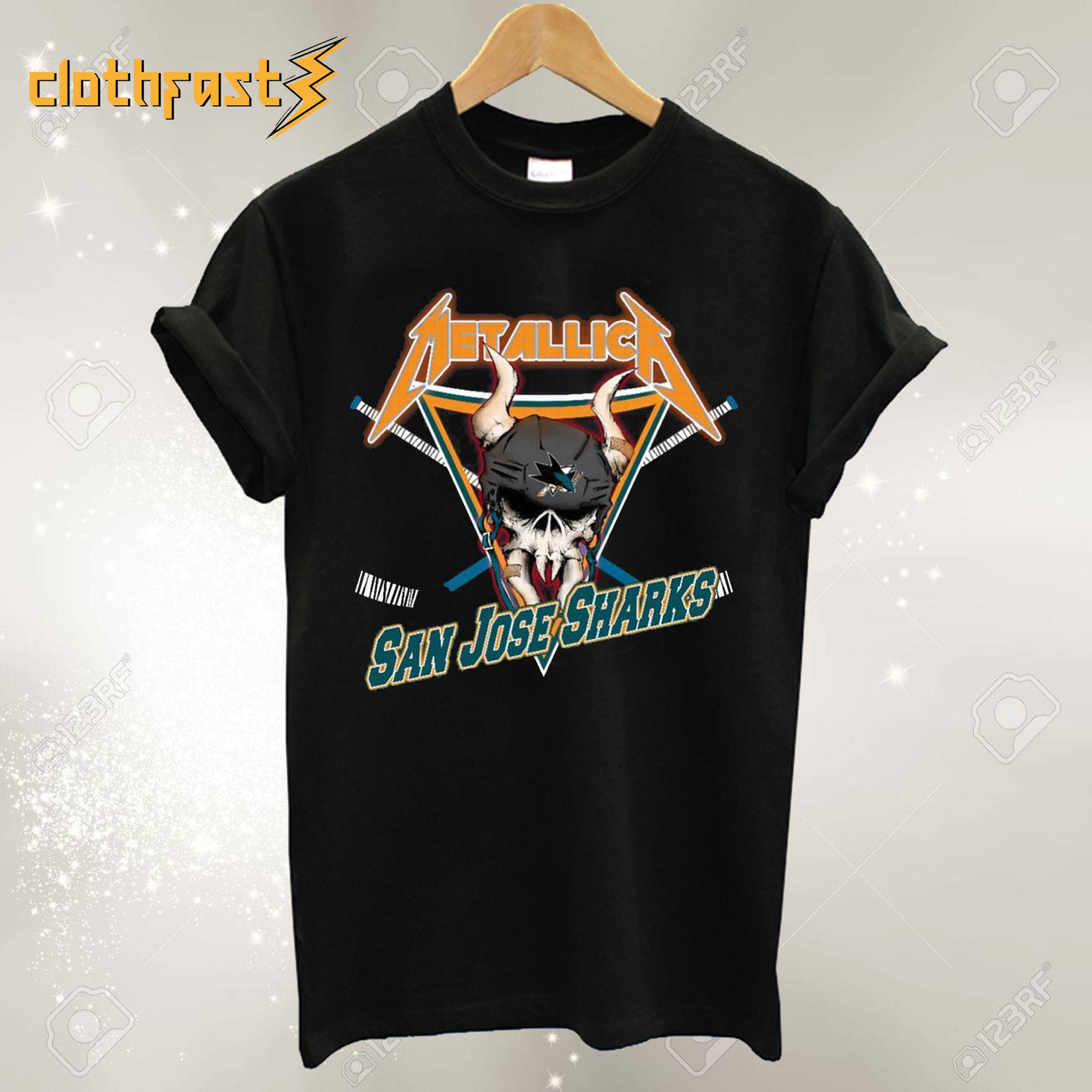 Metallica San Jose Sharks T-Shirt
