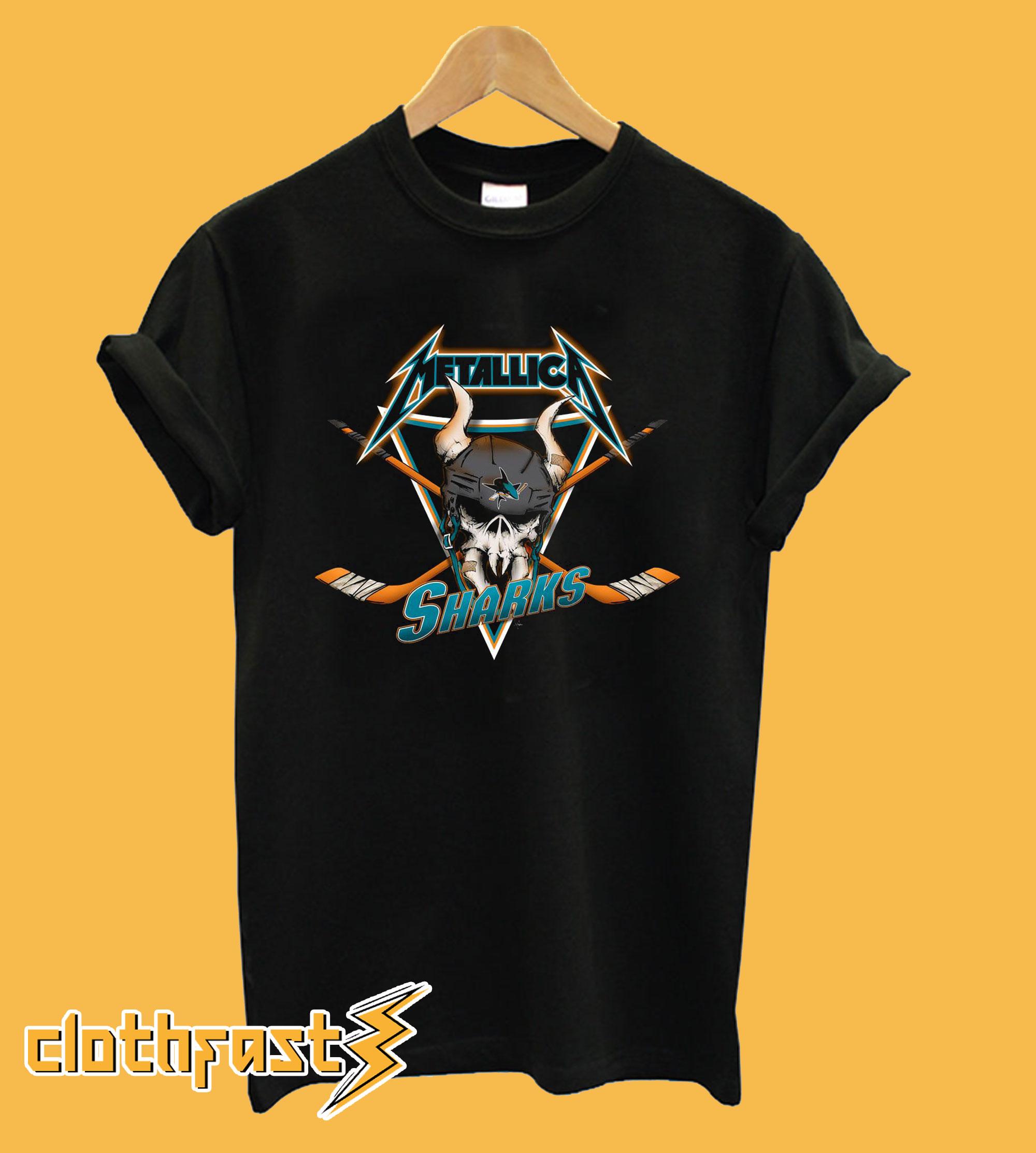 Metallica San Jose Sharks T-Shirt.