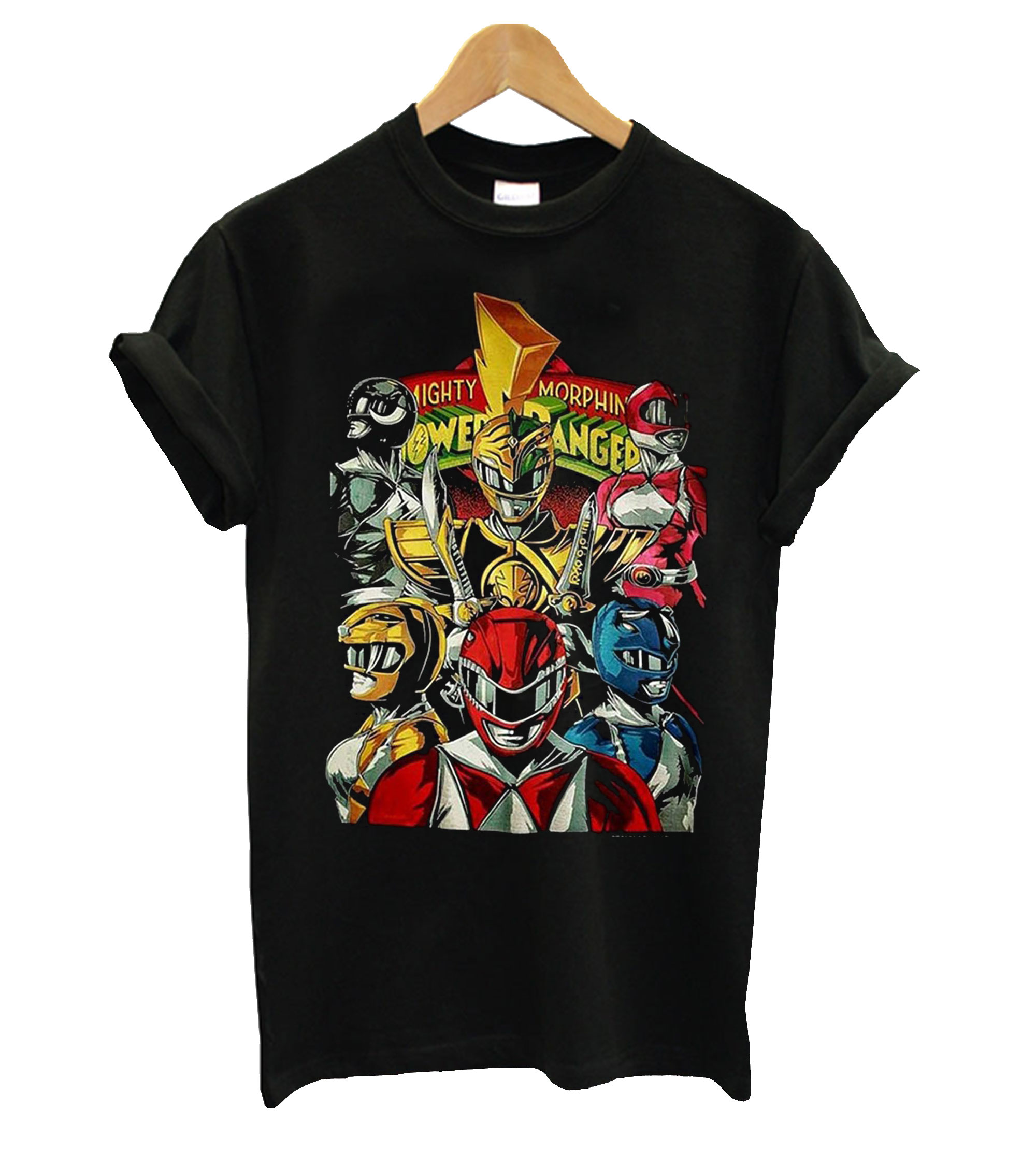 Mighty Morphin Power Rangers T Shirt
