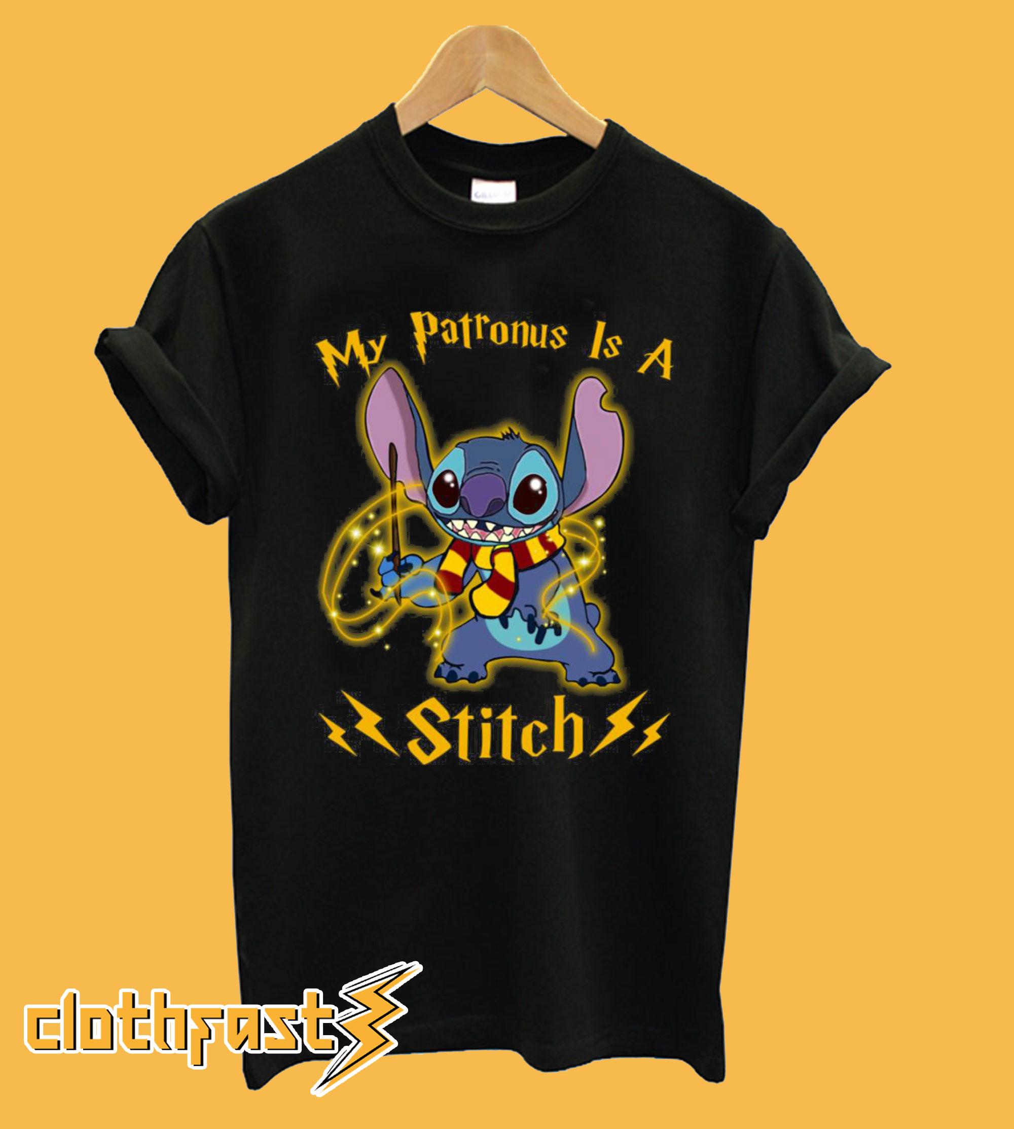 My patronus is a Stitch T-Shirt