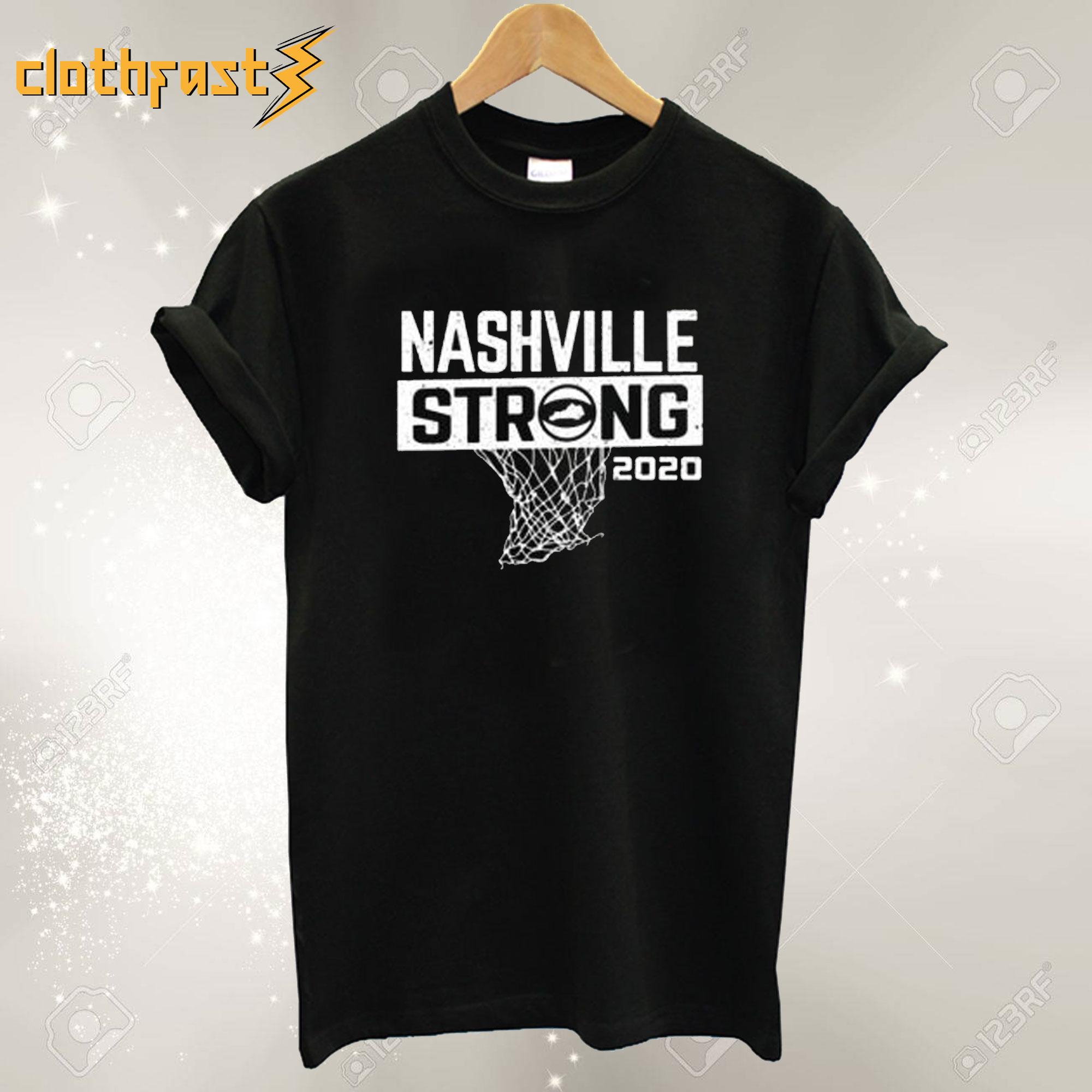 Nashville Strong Basketball T Shirt