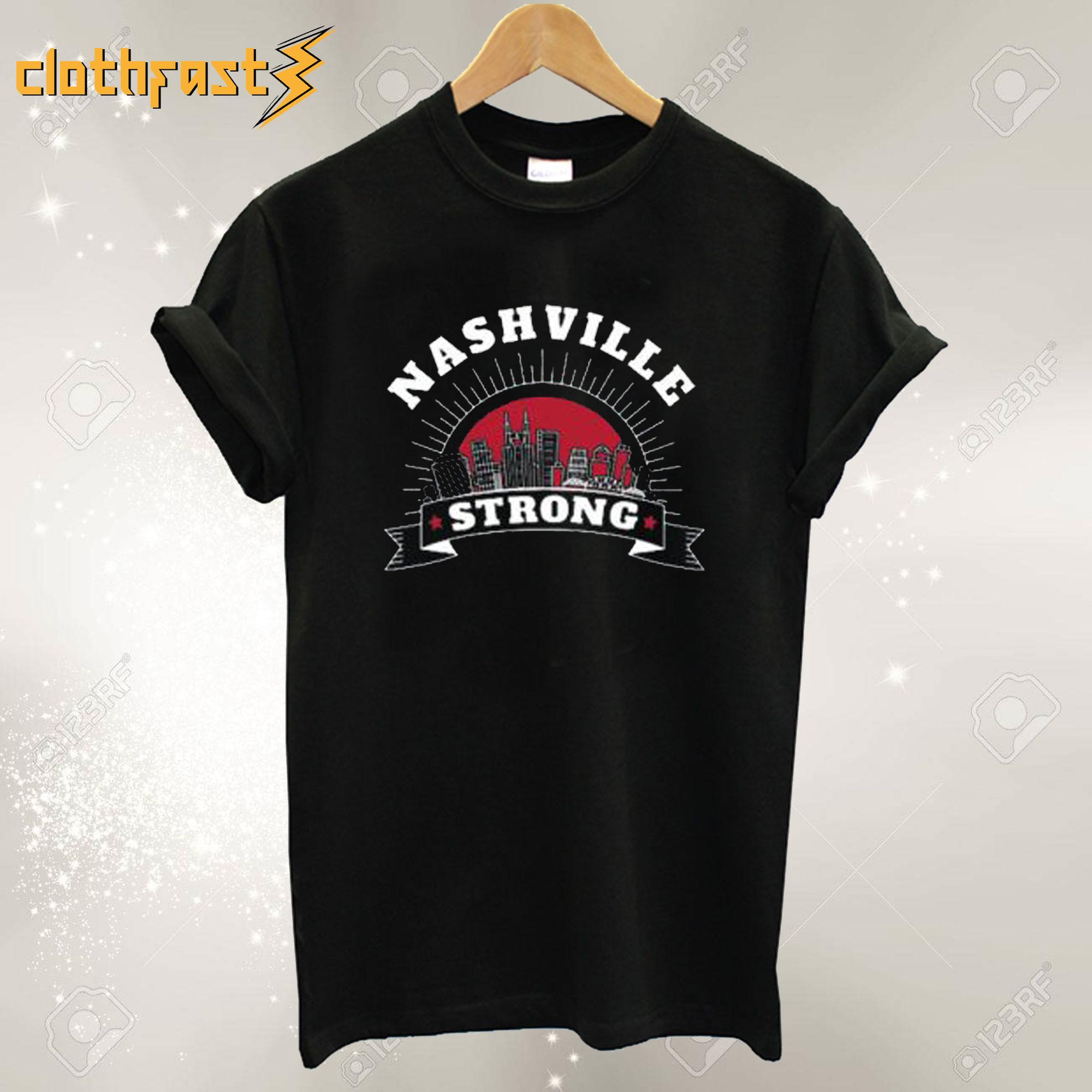 Nashville Strong Tornado T Shirt