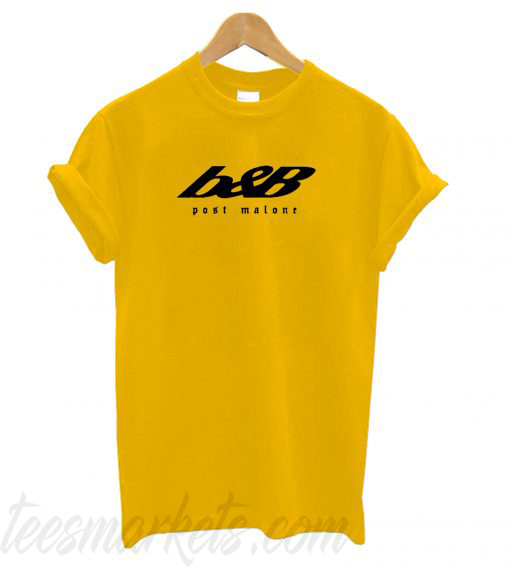 Post Malone b&B Beerbongs & Bentleys T shirt