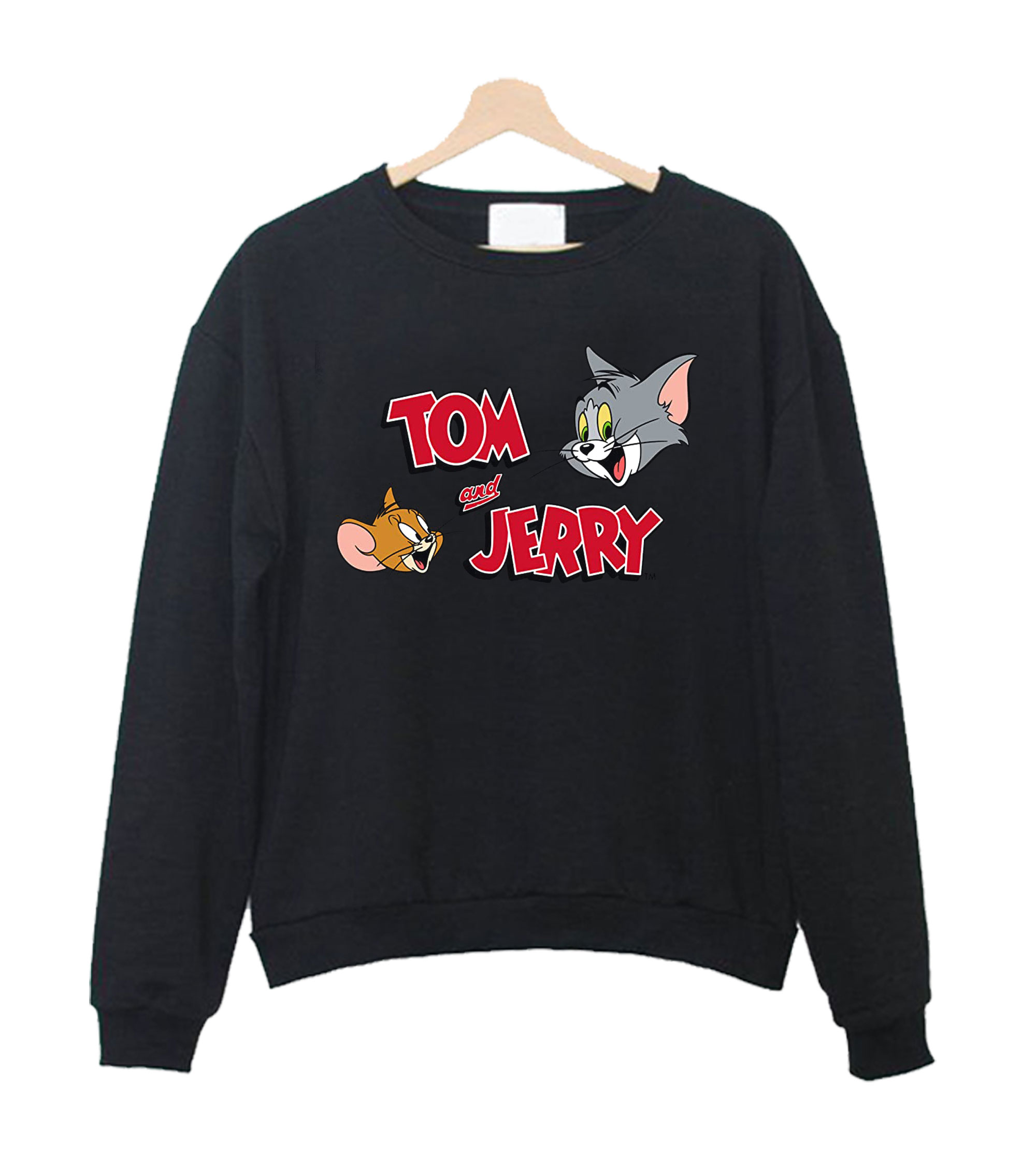 Tom and Jerry Graphic Sweatshirt