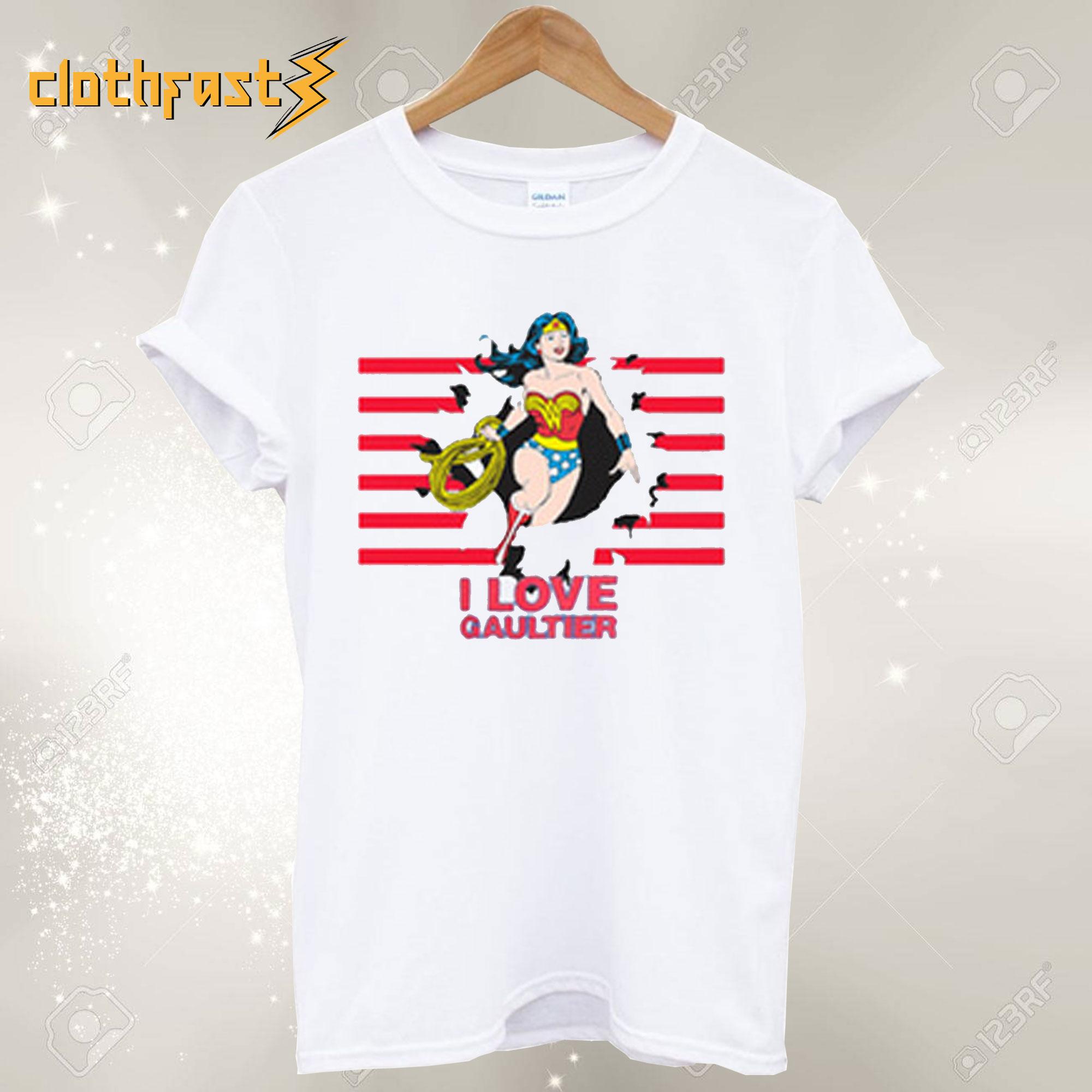 Wonder Woman I Love Gaultier T-Shirt