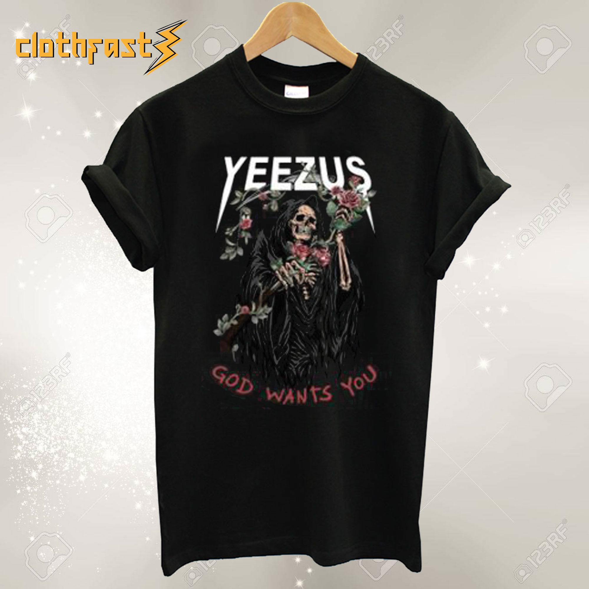Yeezus Tour Shirt Yeezy T-Shirt
