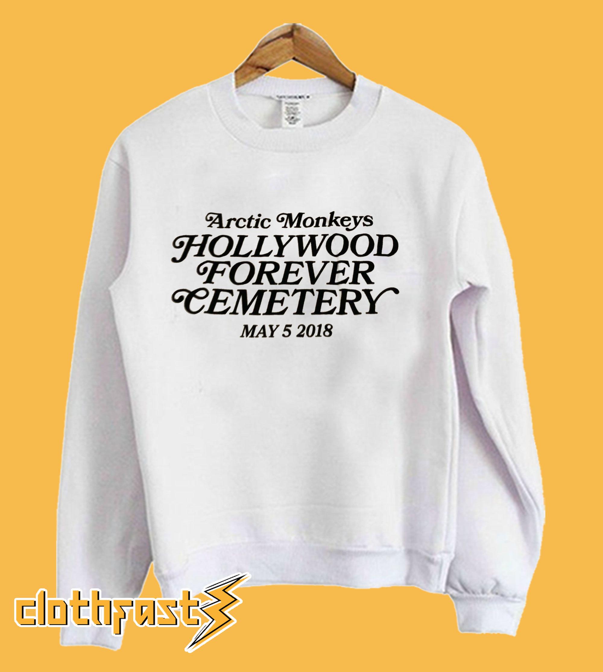 Arctic Monkeys Hollywood Forever Sweatshirt