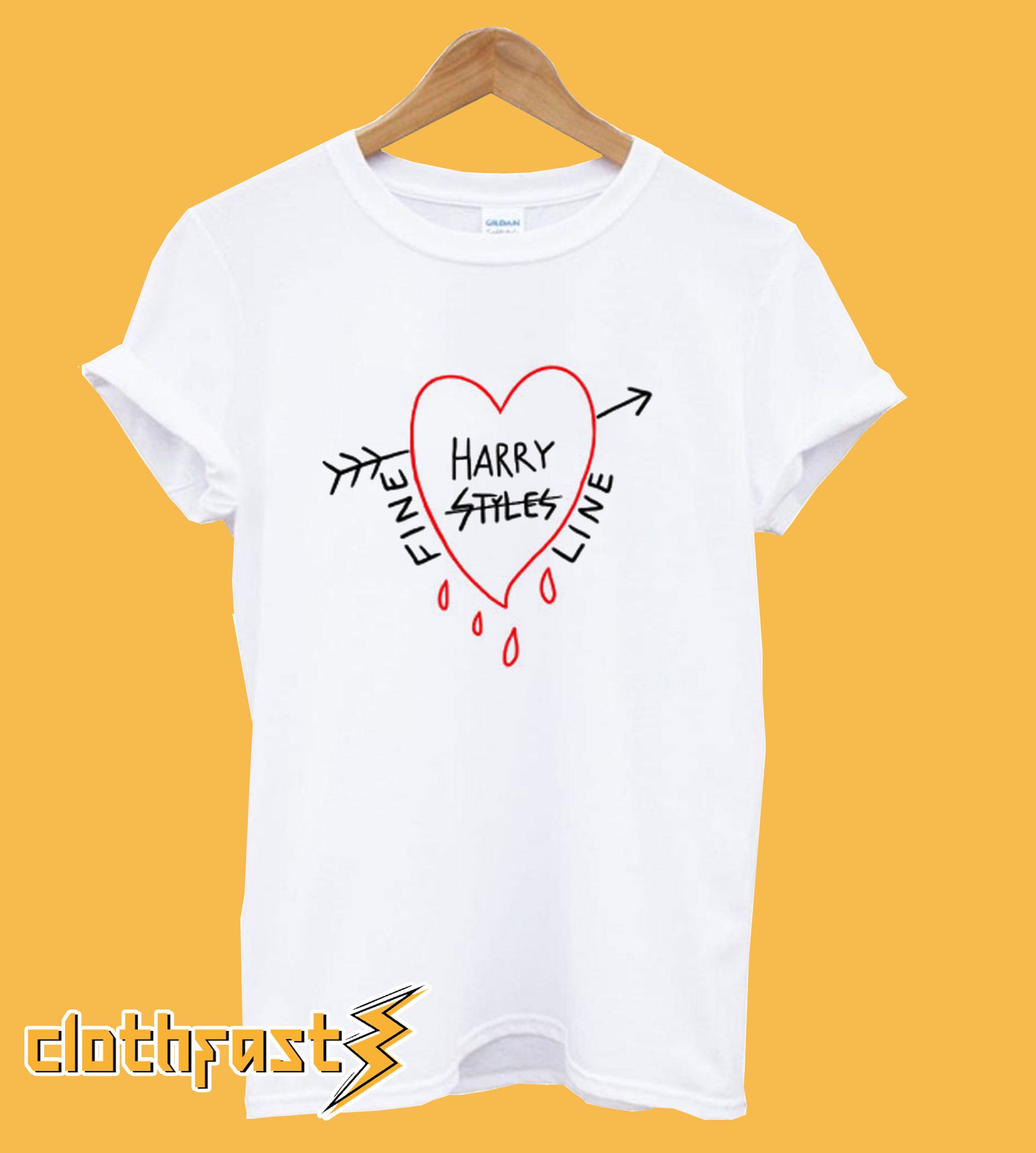 Harry Styles + Alessandro Michele - Fine Line Tee T-Shirt