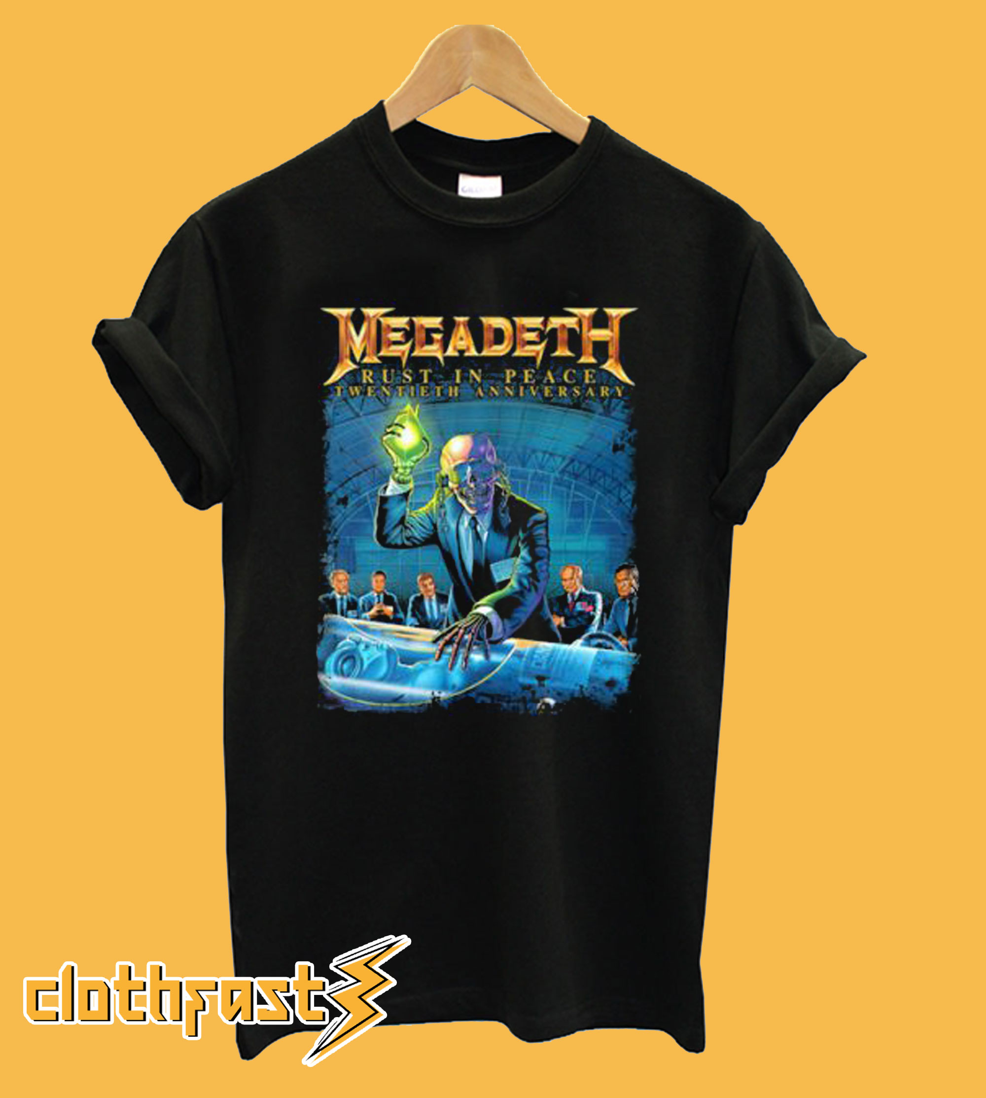Rust In Peace Megadeth T-Shirt