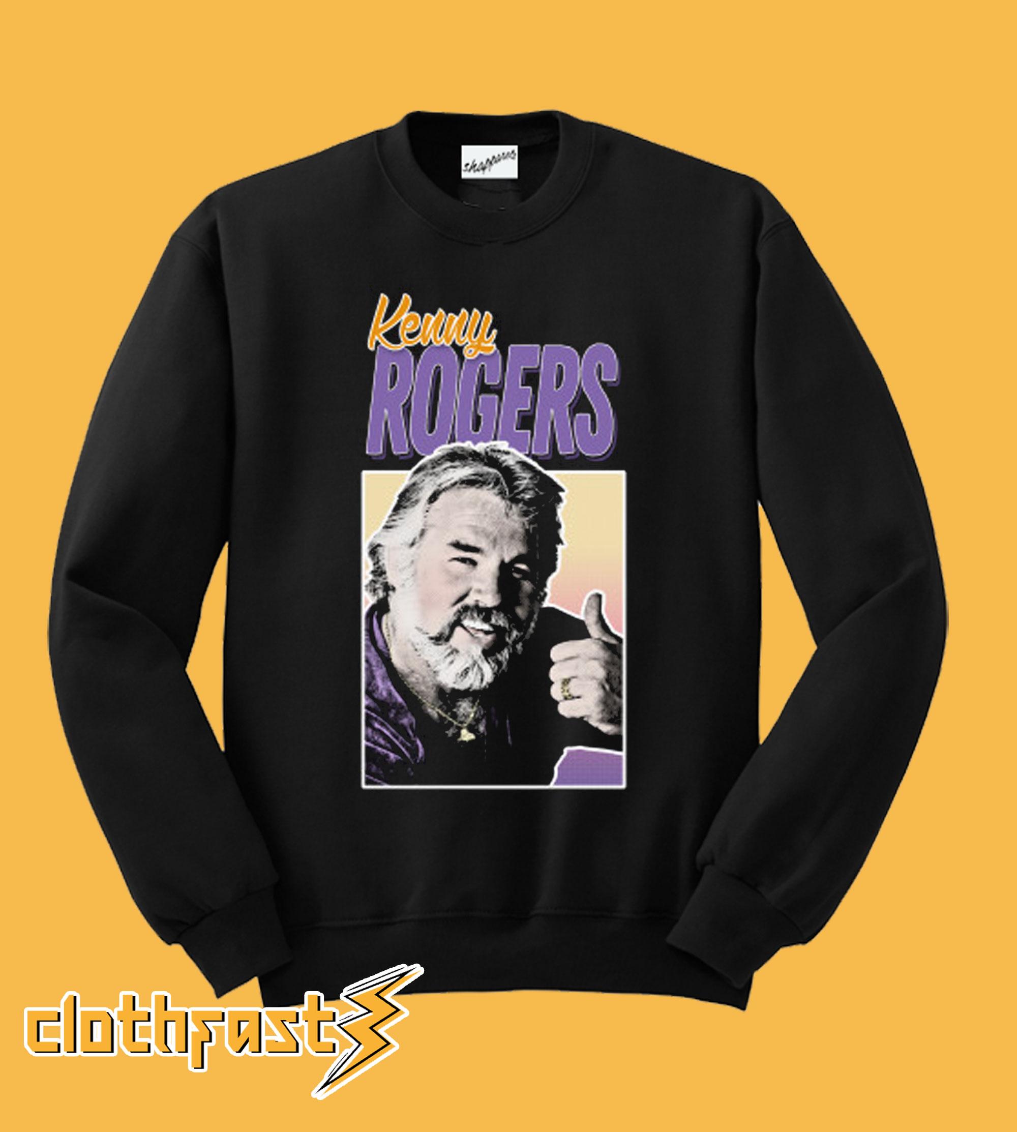 Vintage Style Kenny Rogers 80s Sweatshirt