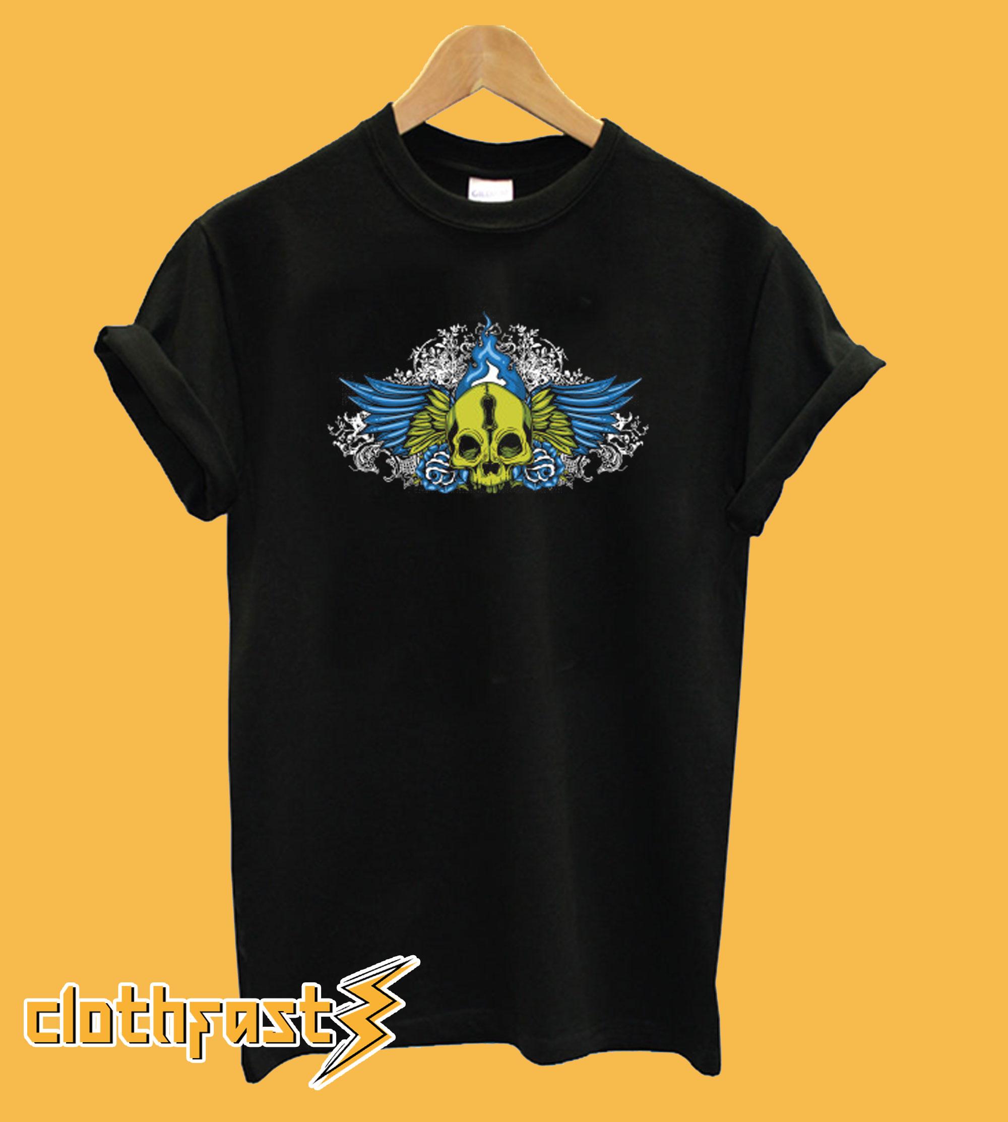 Wing Skull T-Shirt