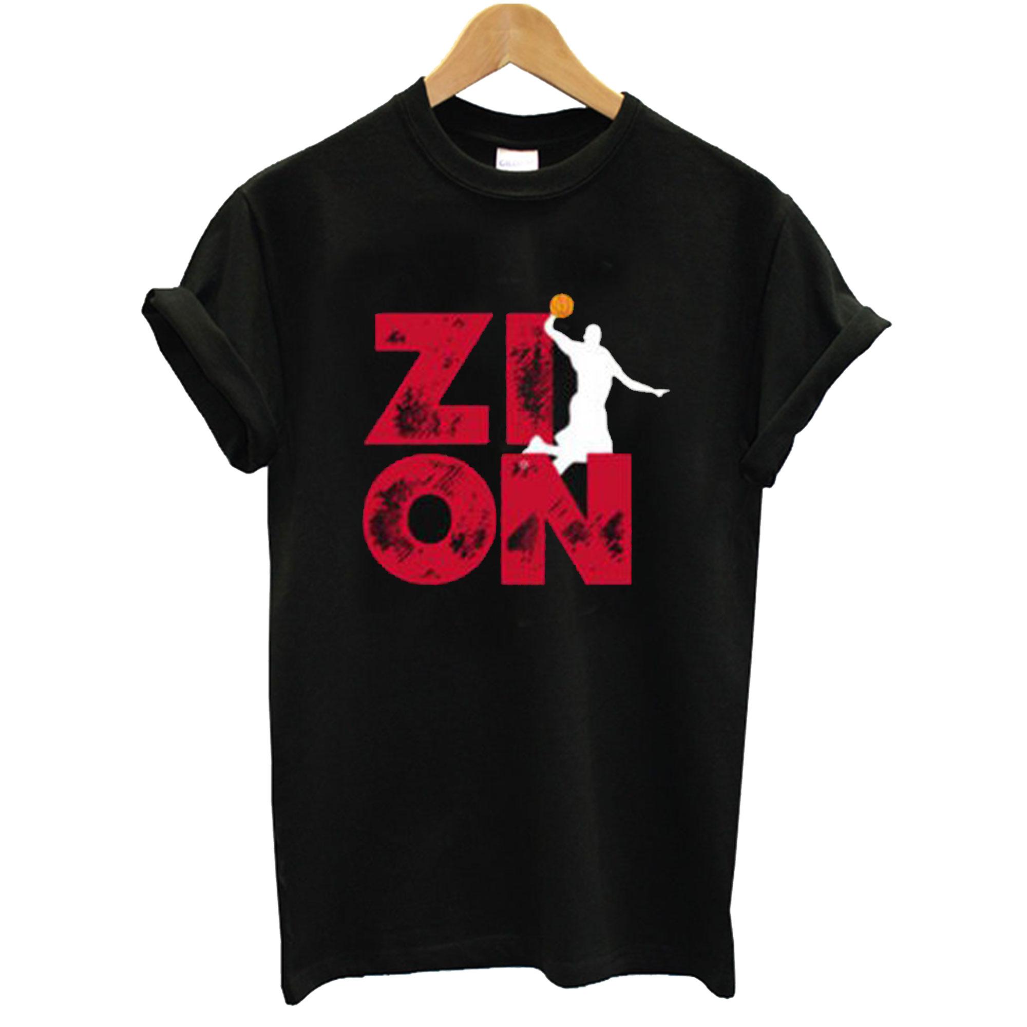 Zion Pelicans Basketball T-Shirt