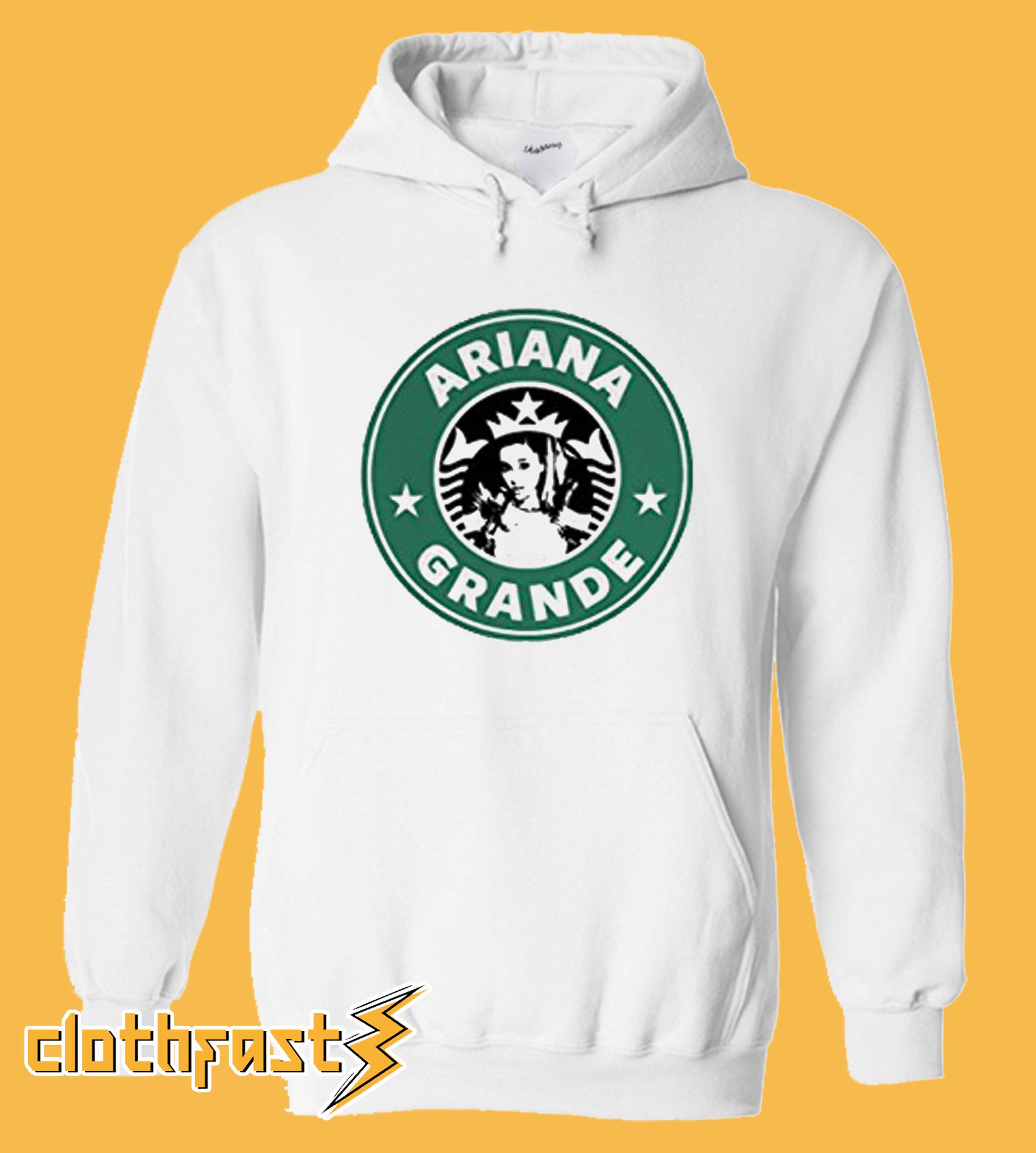 Ariana Grande Starbucks Logo Hoodie