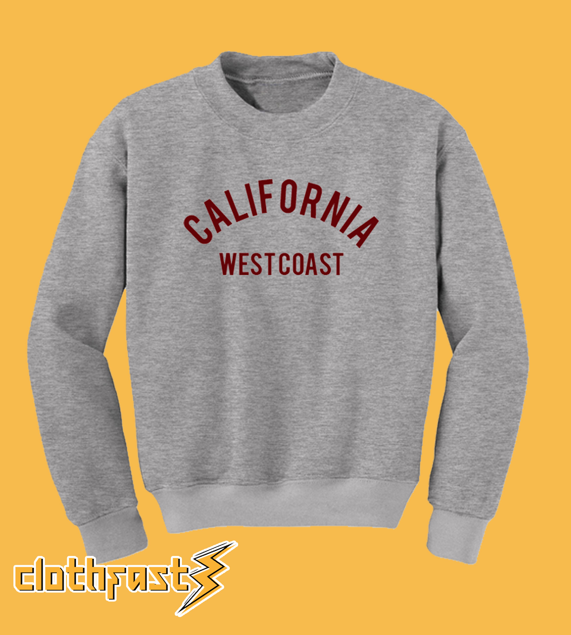 California West Coast Sweatshirt