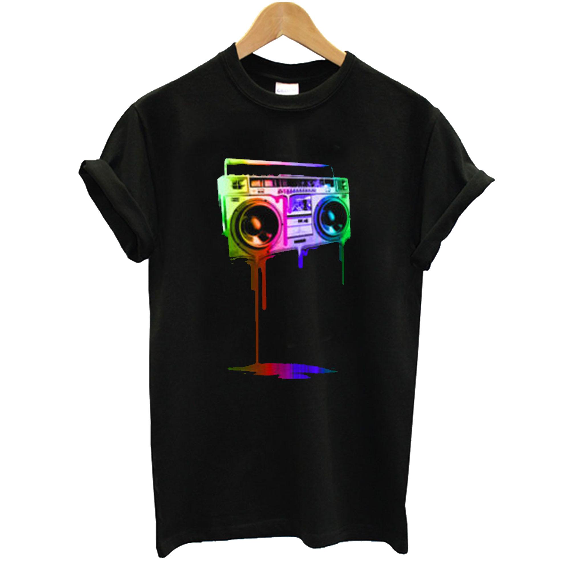 Melting Boombox T-Shirt