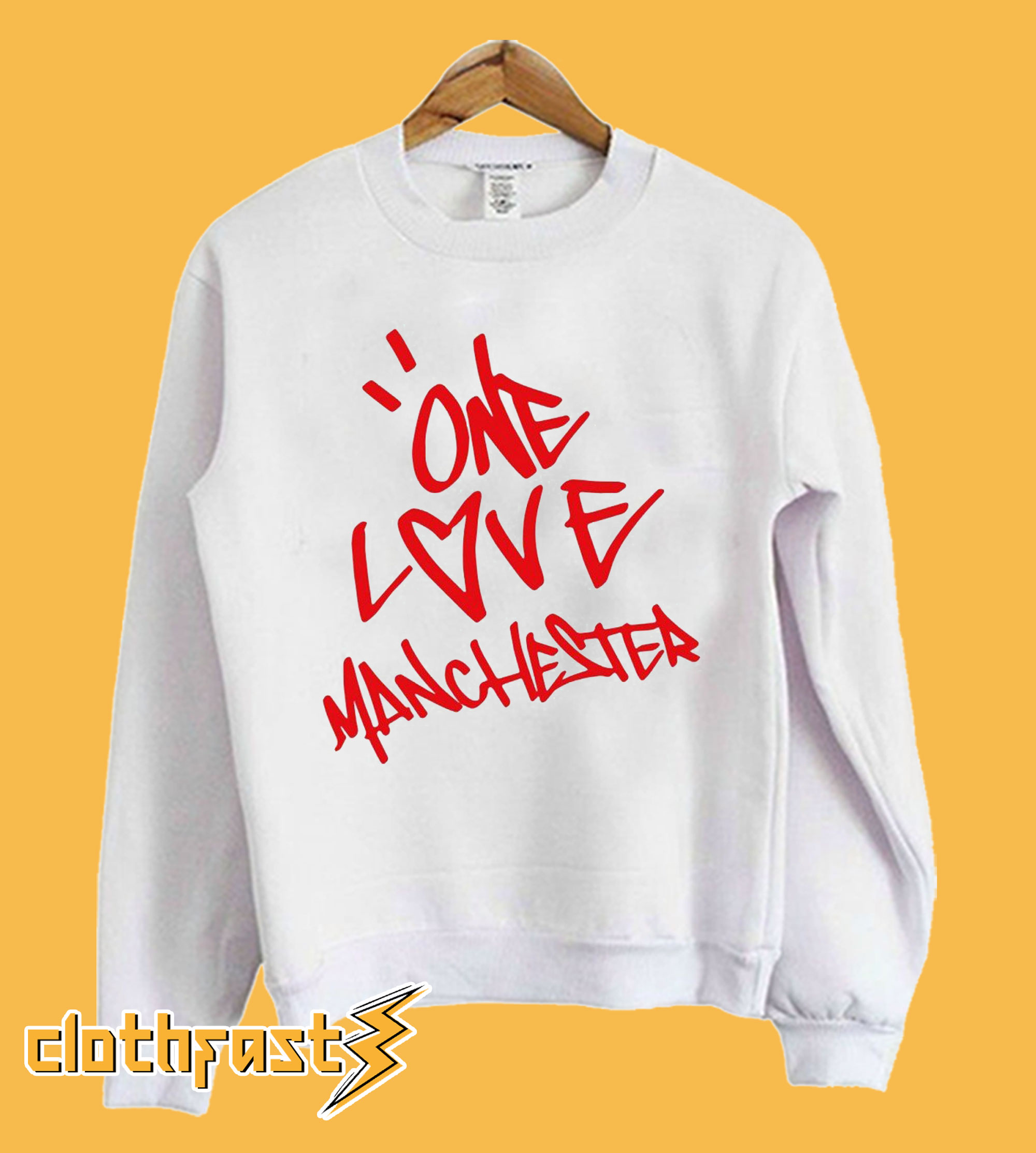 One Love Manchester Sweatshirt