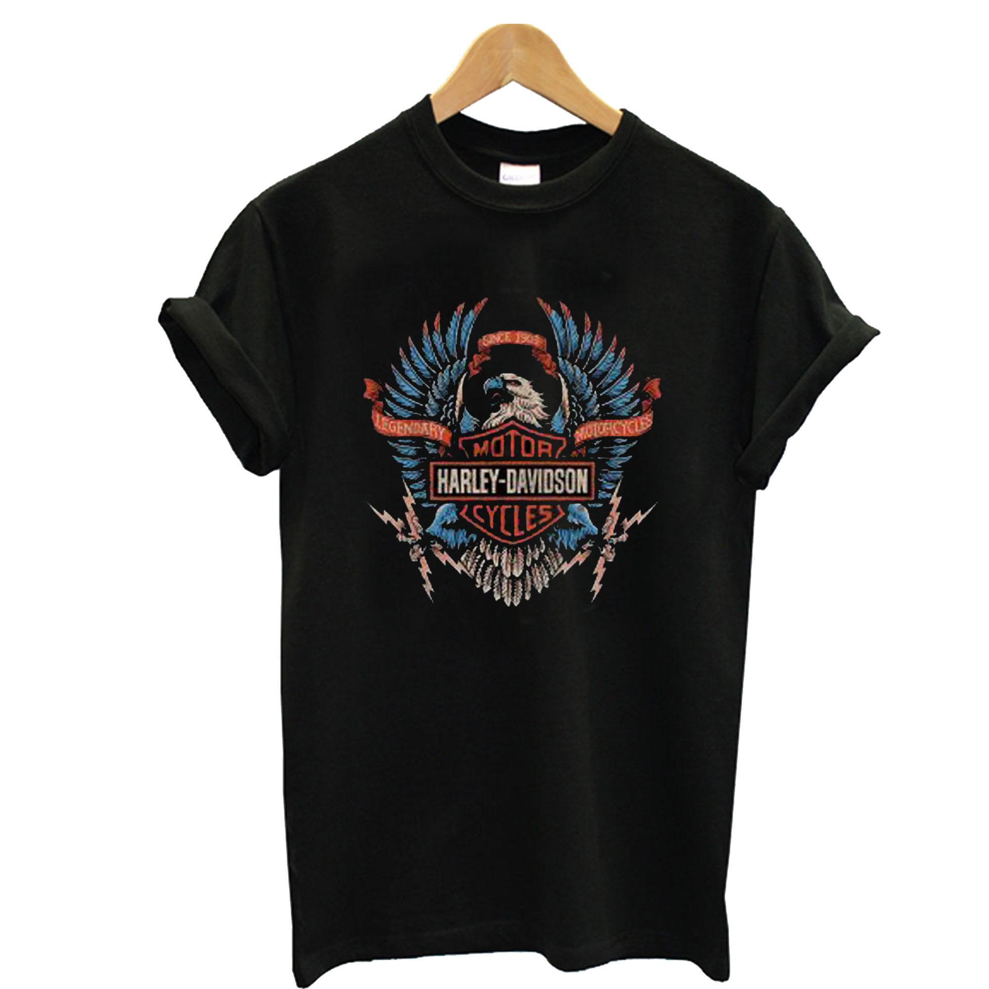 Harley Davidson Legendary Motorcycles T-Shirt