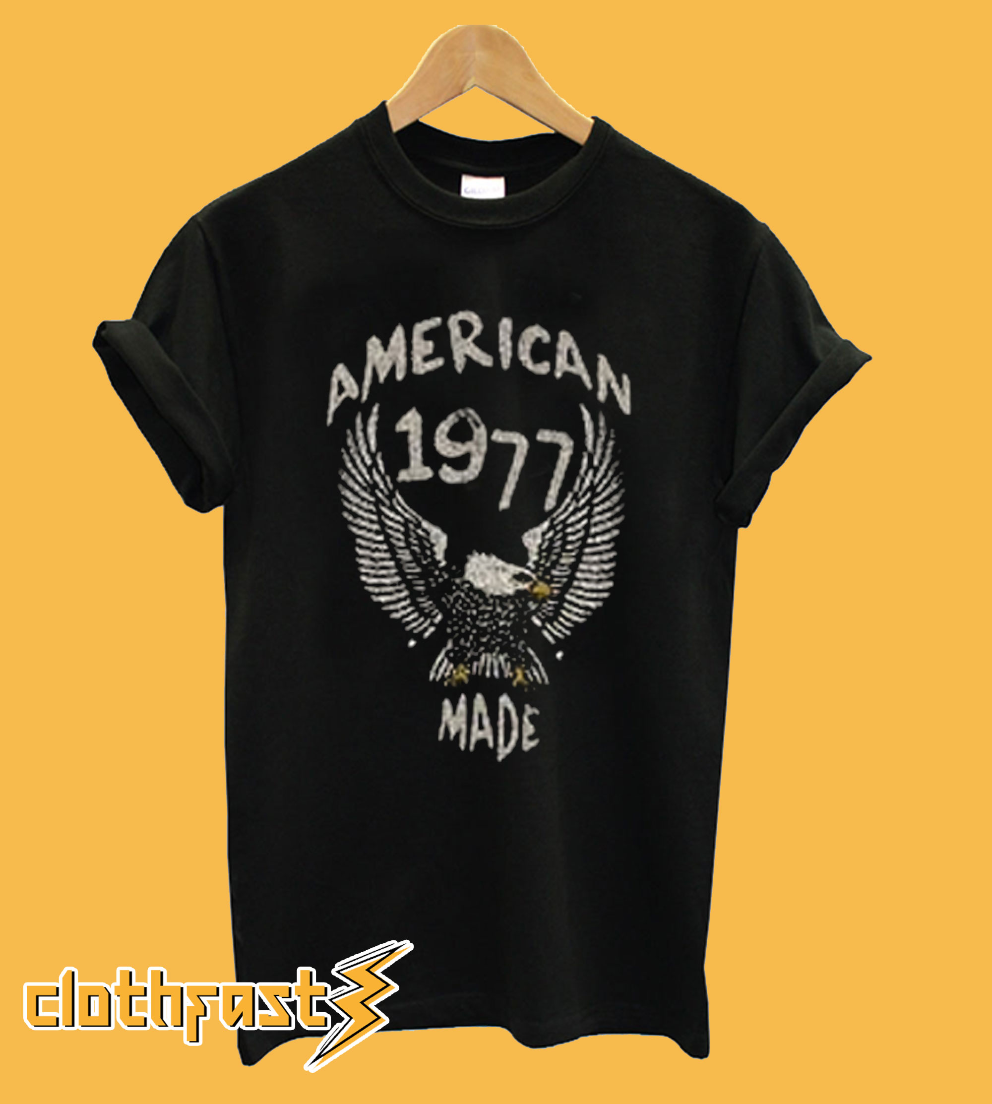 American Made 1977 Eagle vintage T Shirt