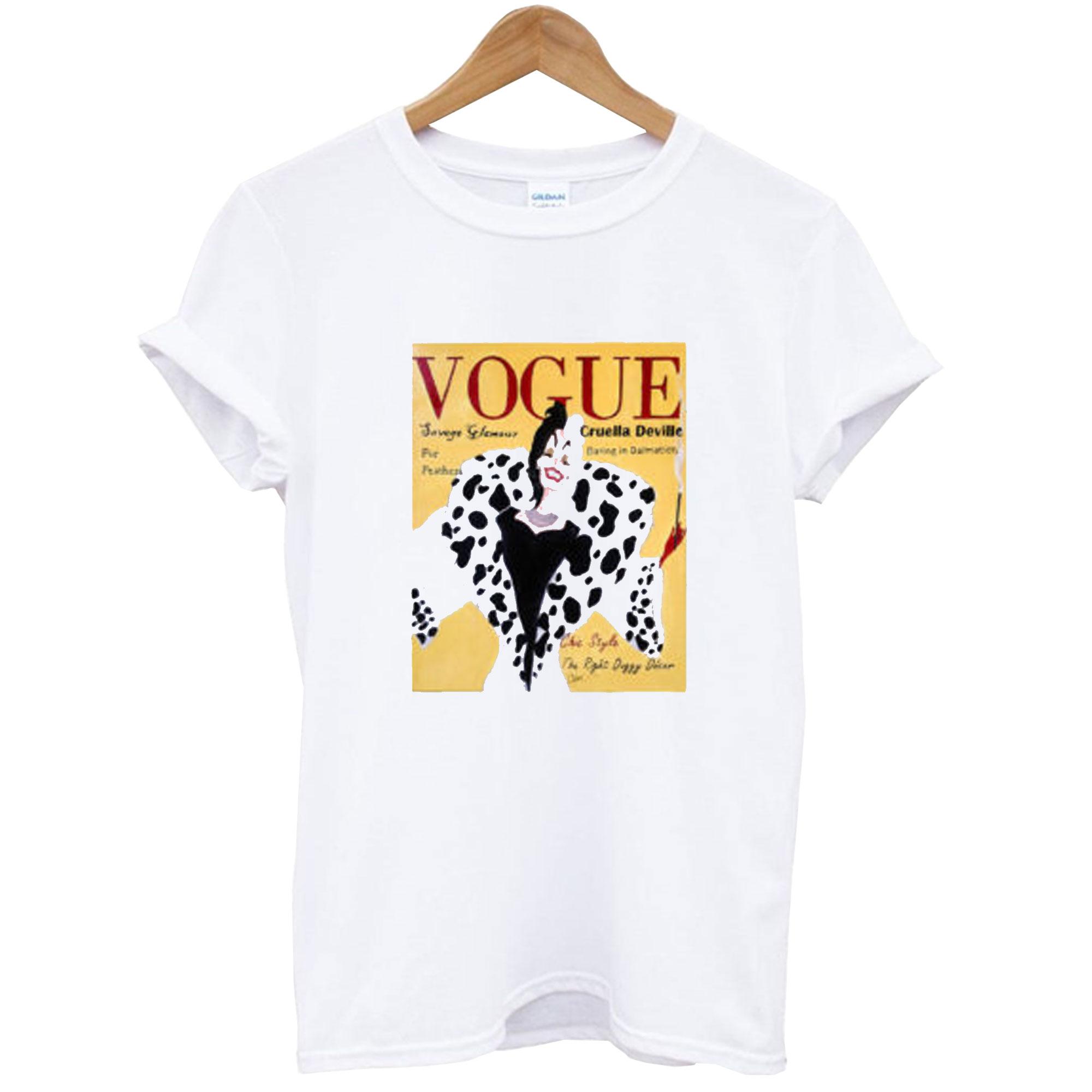 Cruella Deville Vogue T-Shirt