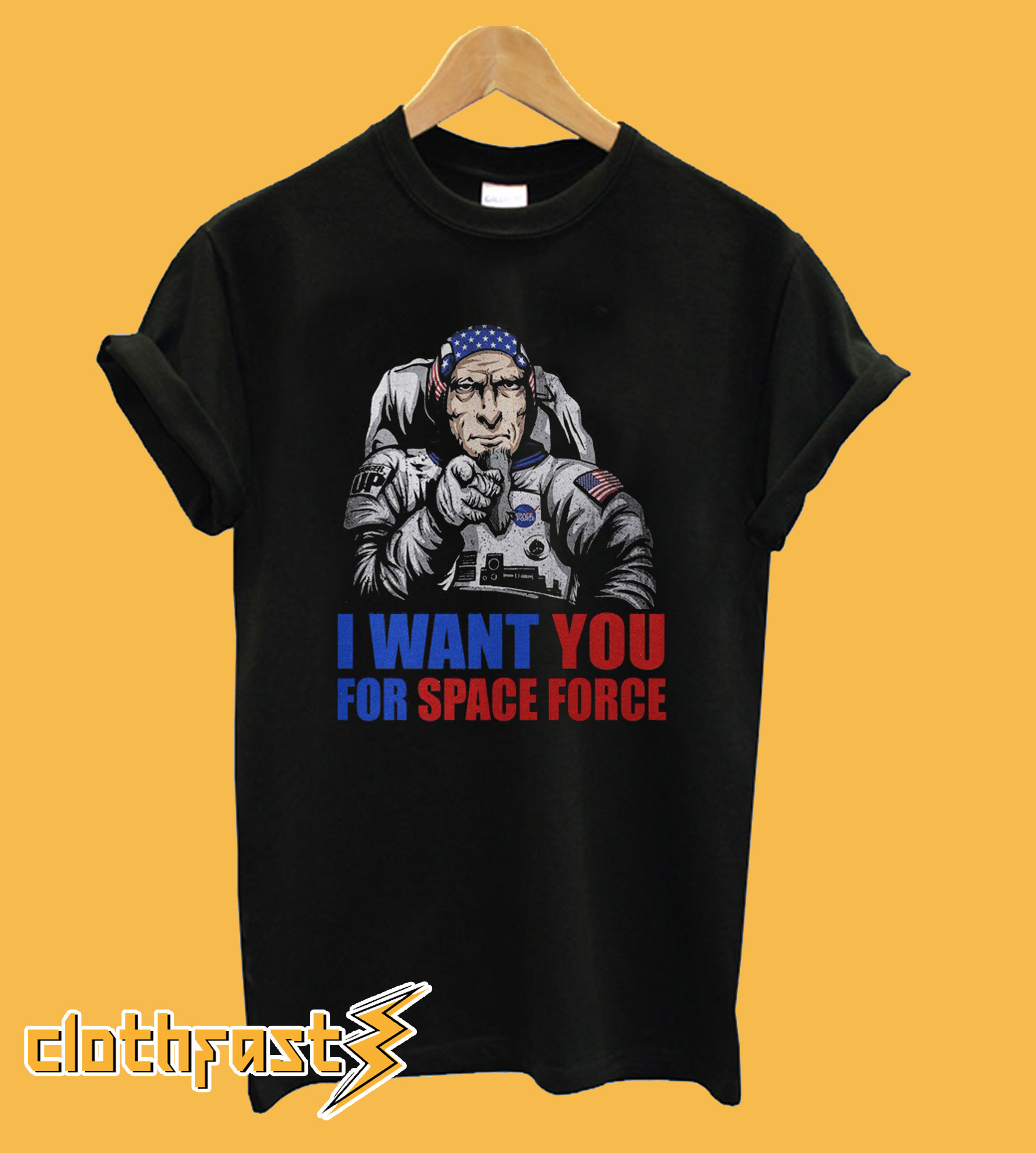 Uncle Sam – I Want You For Space Force T Shirt