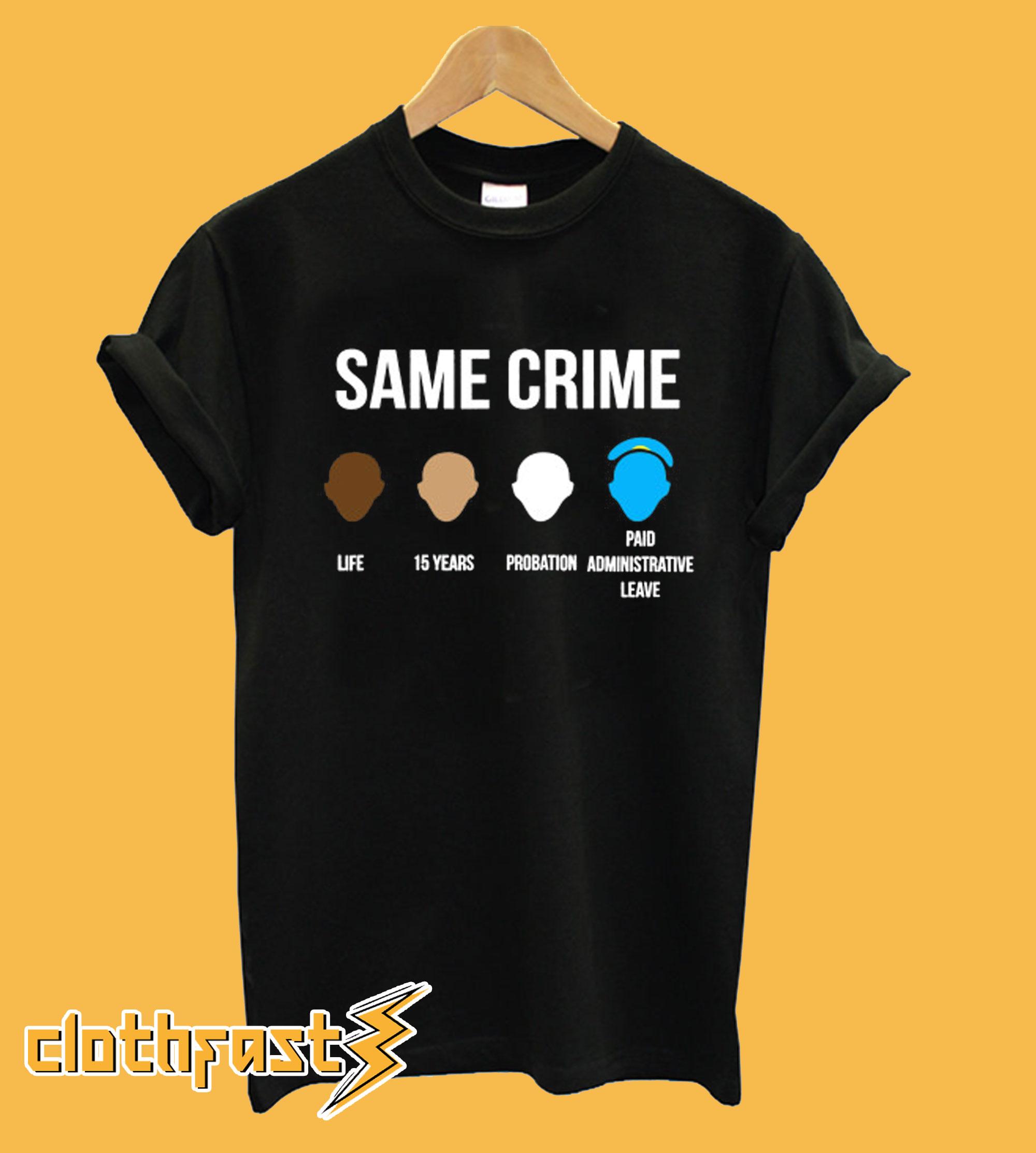 Snoop Dogg Same Crime T shirt
