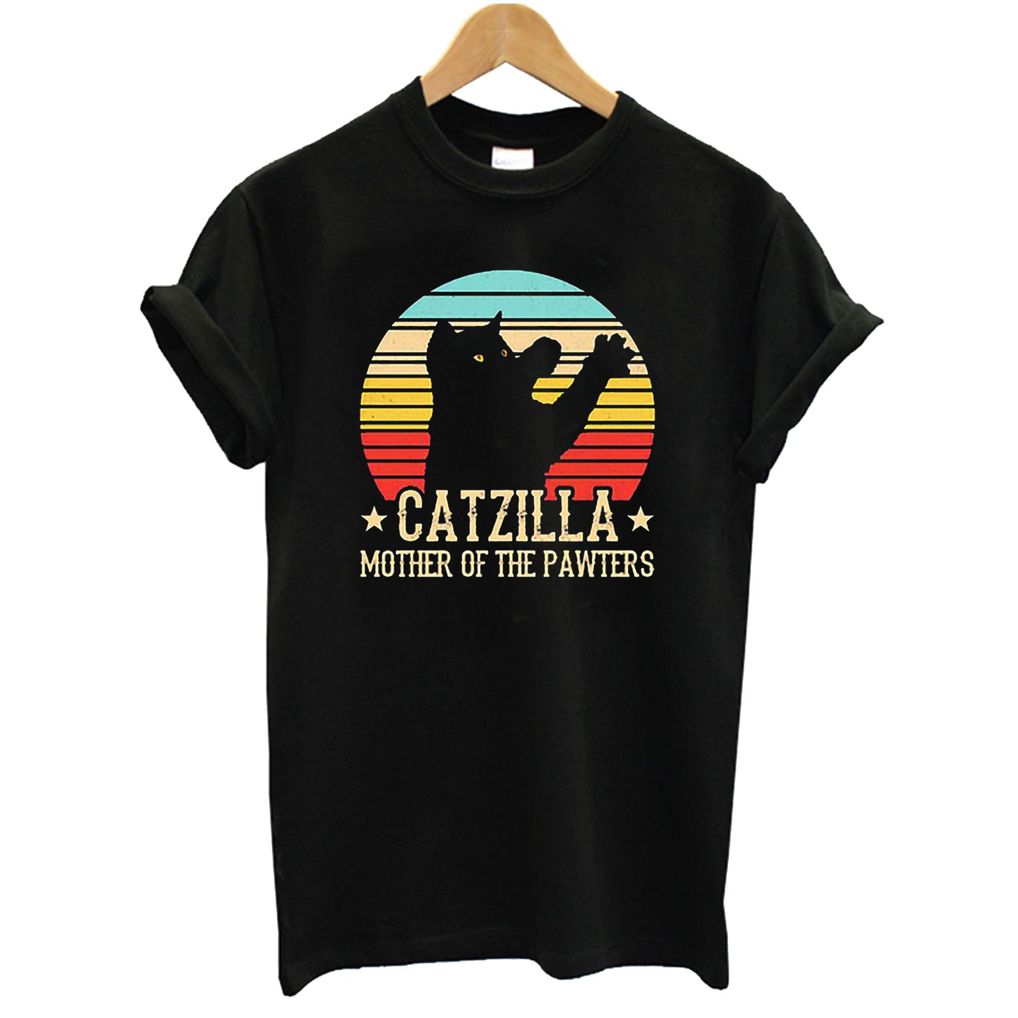 Catzilla Parody Godzilla T-Shirt