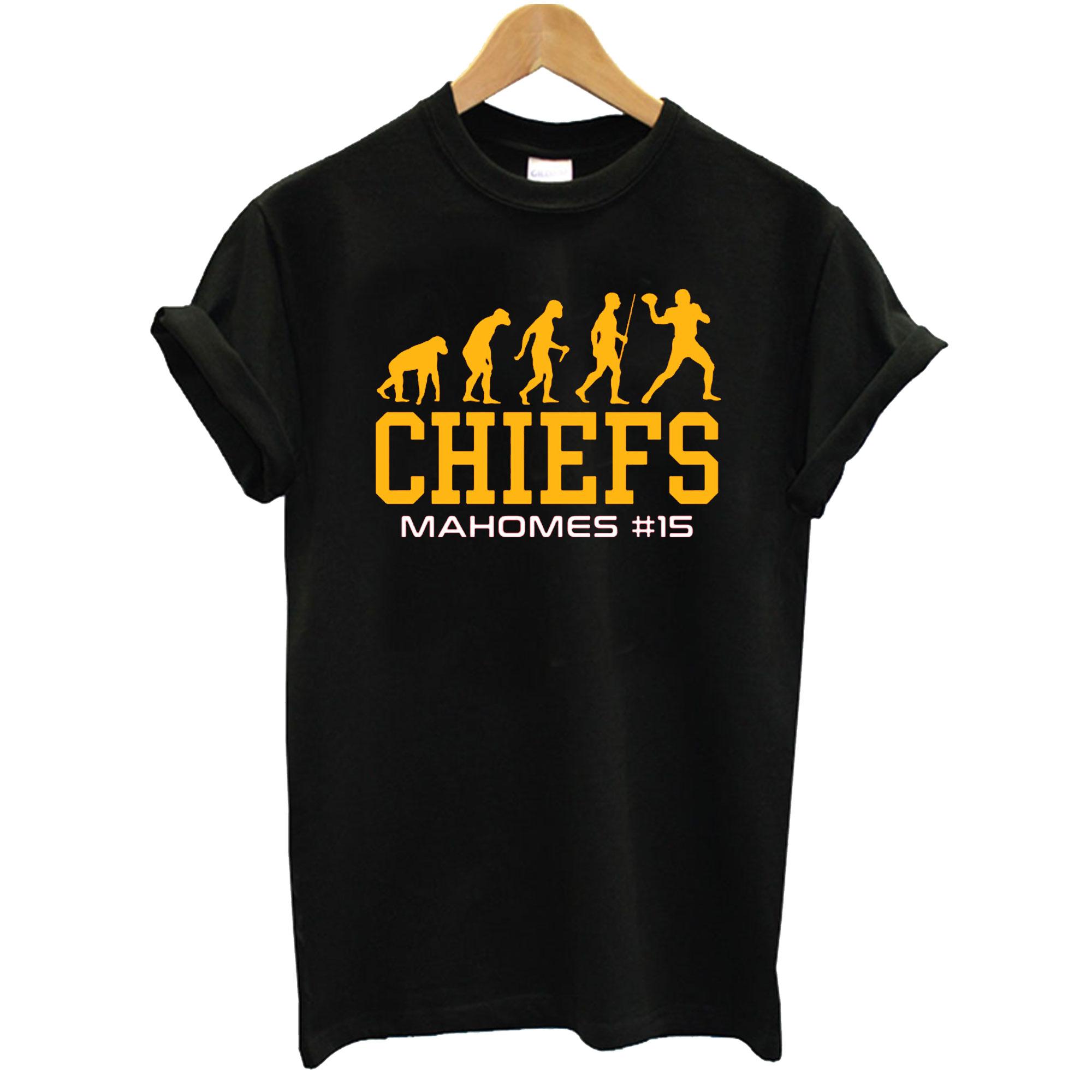 Evolution Patrick Mahomes Kansas City T-Shirt