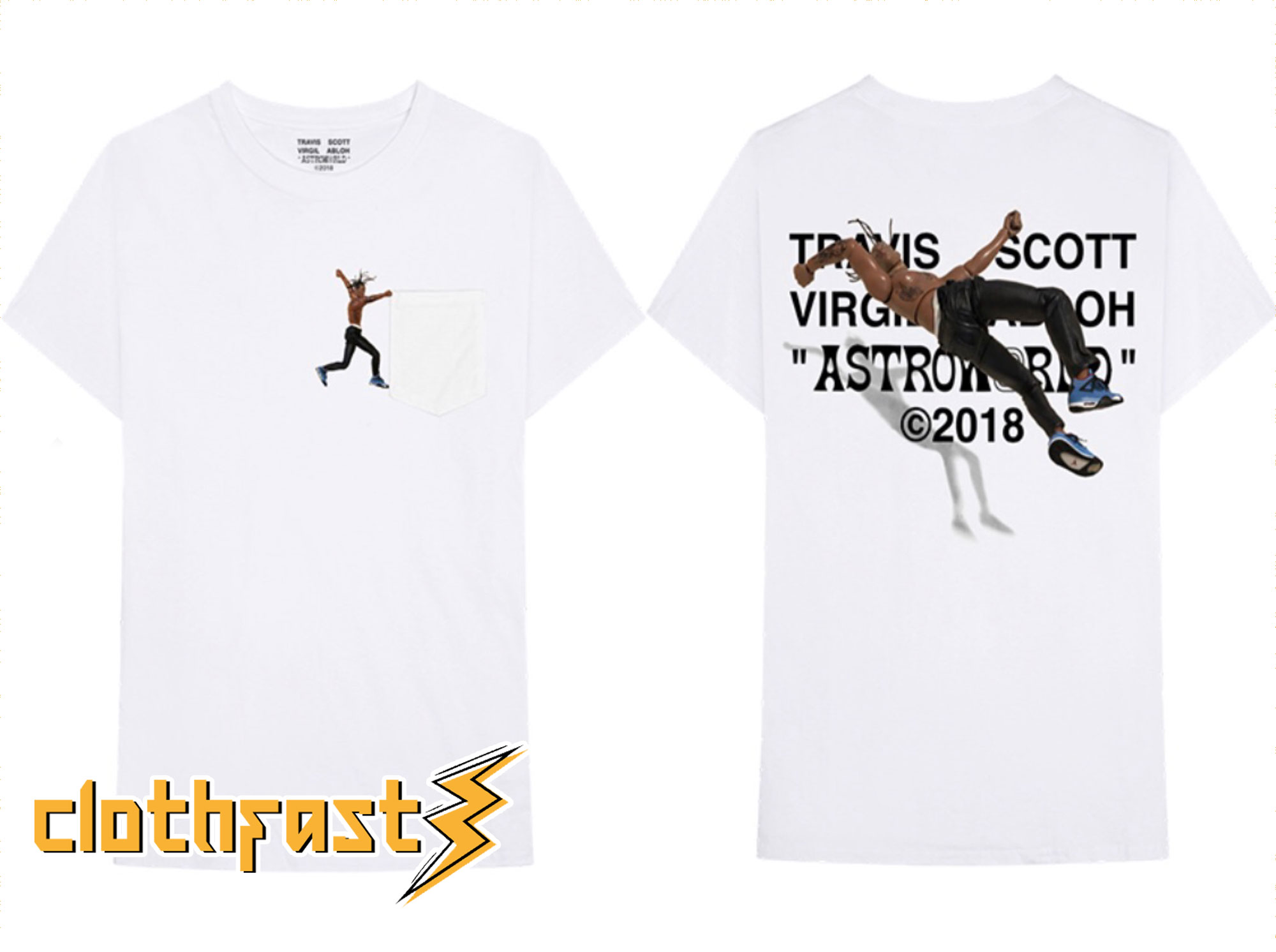 Virgil Abloh Is Dropping a Second Travis Scott Astroworld T shirt