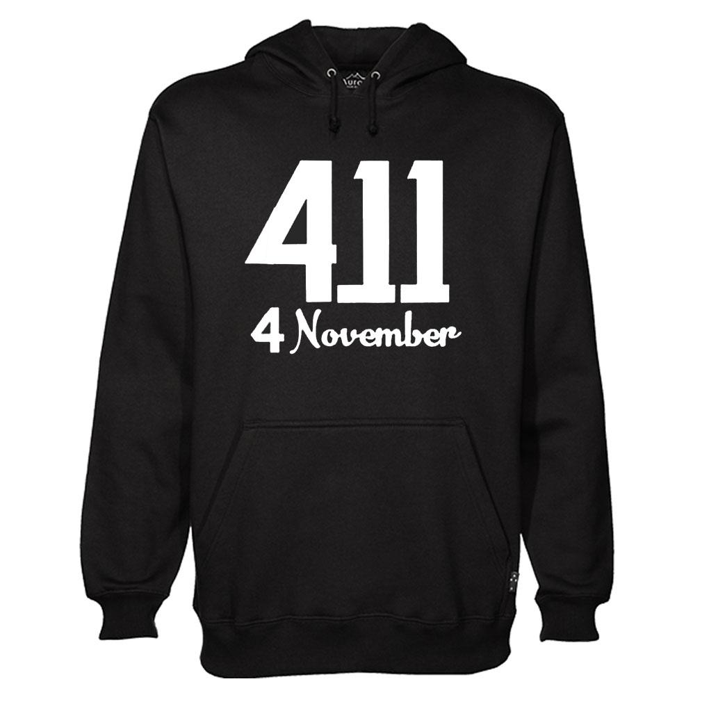 4 November Hoodie