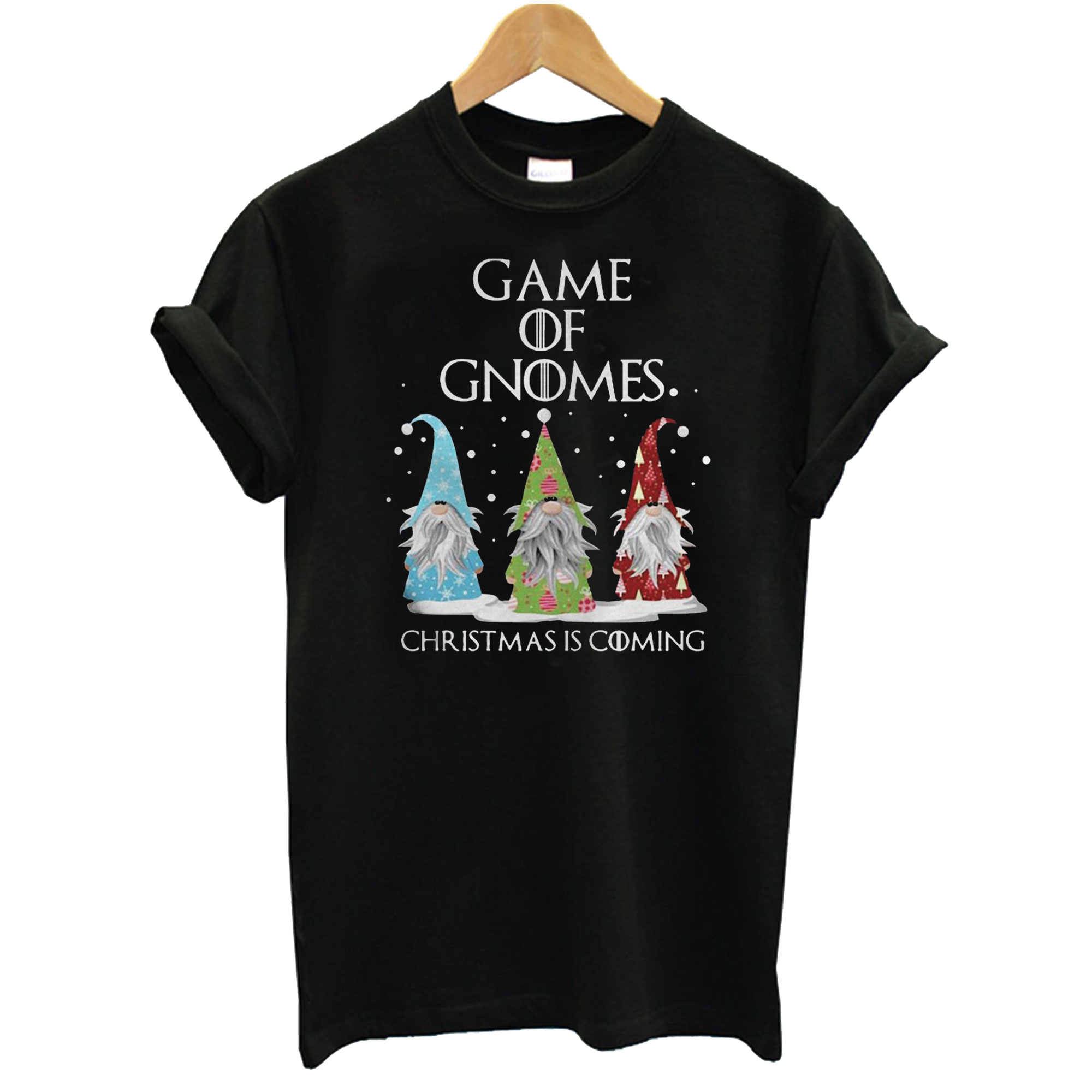Game Of Gnomes Christmas Is Coming T-Shirt