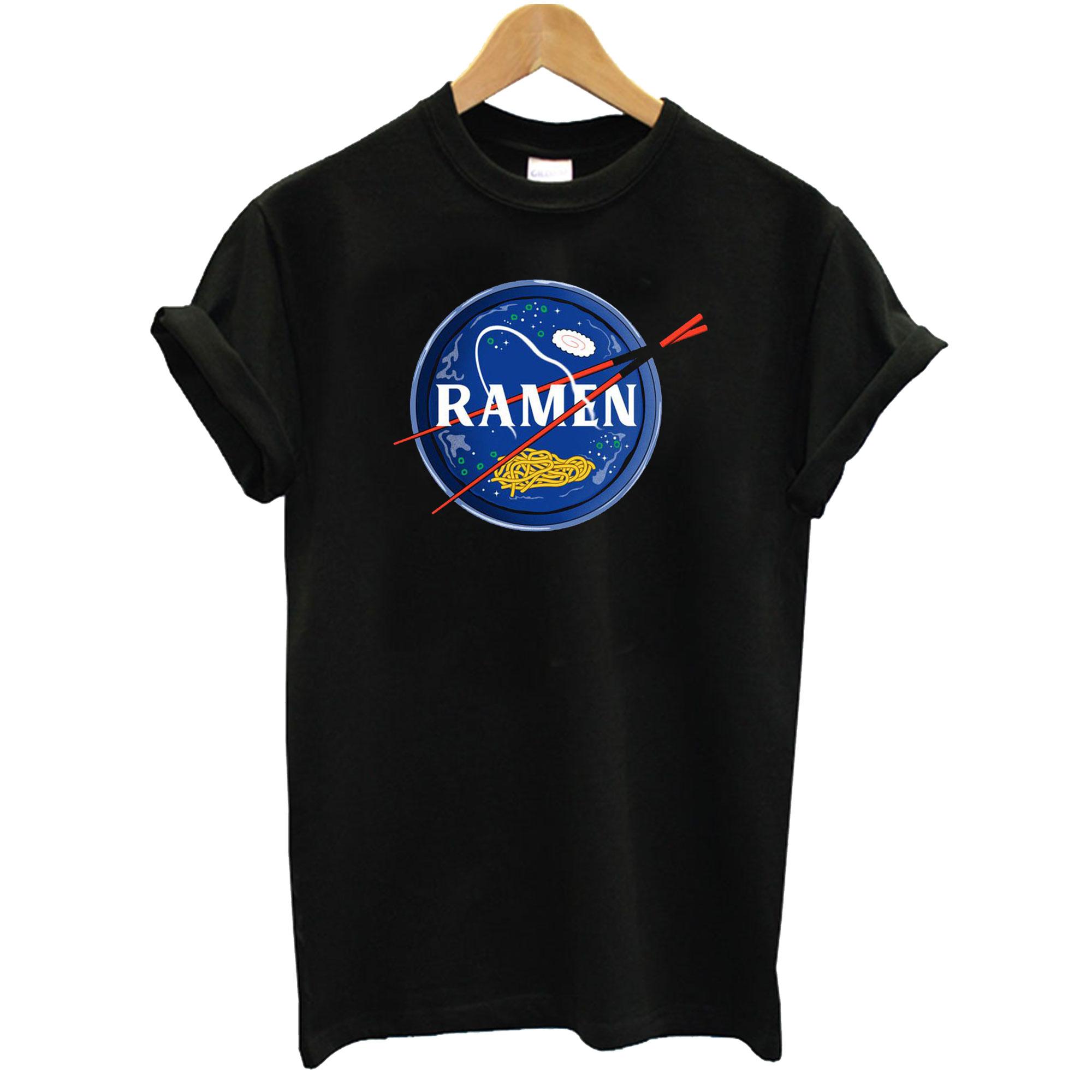 Nasa Parody Ramen Japanese T-Shirt
