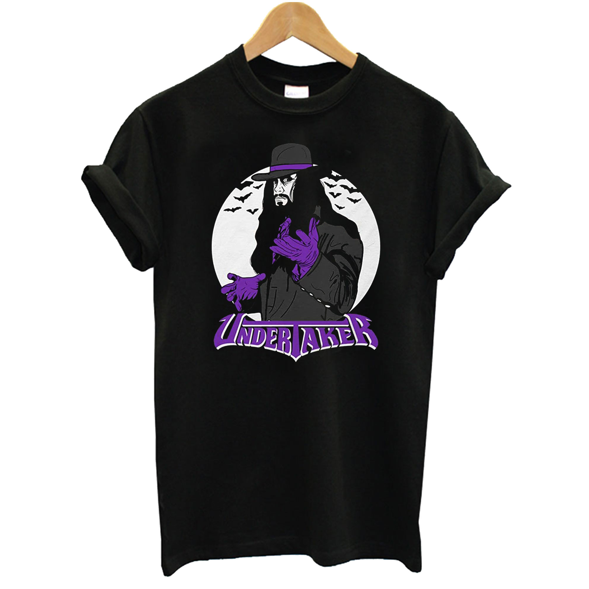 Vintage Undertaker With Logo Adult T-Shirt