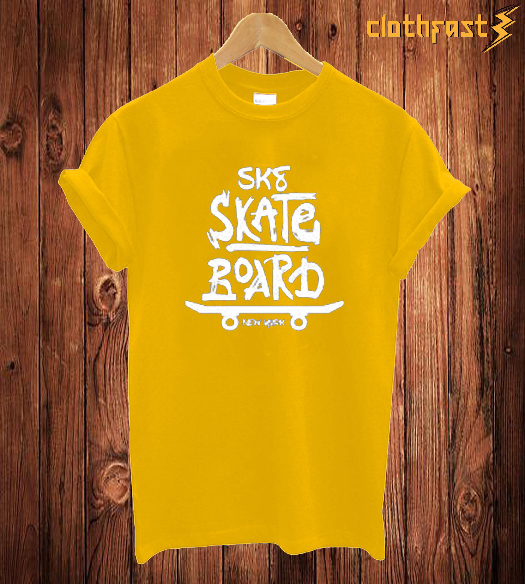 SKS Skate Board T Shirt
