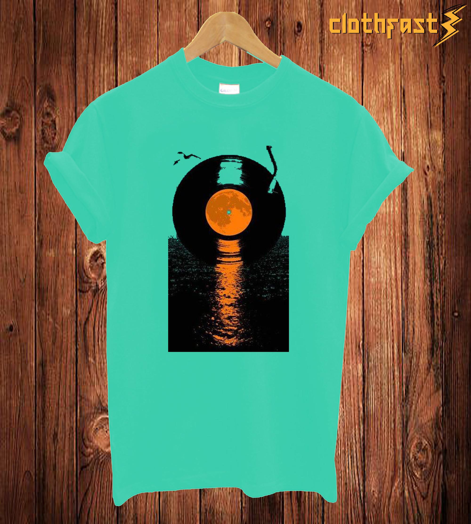 Vinyi Record T Shirt